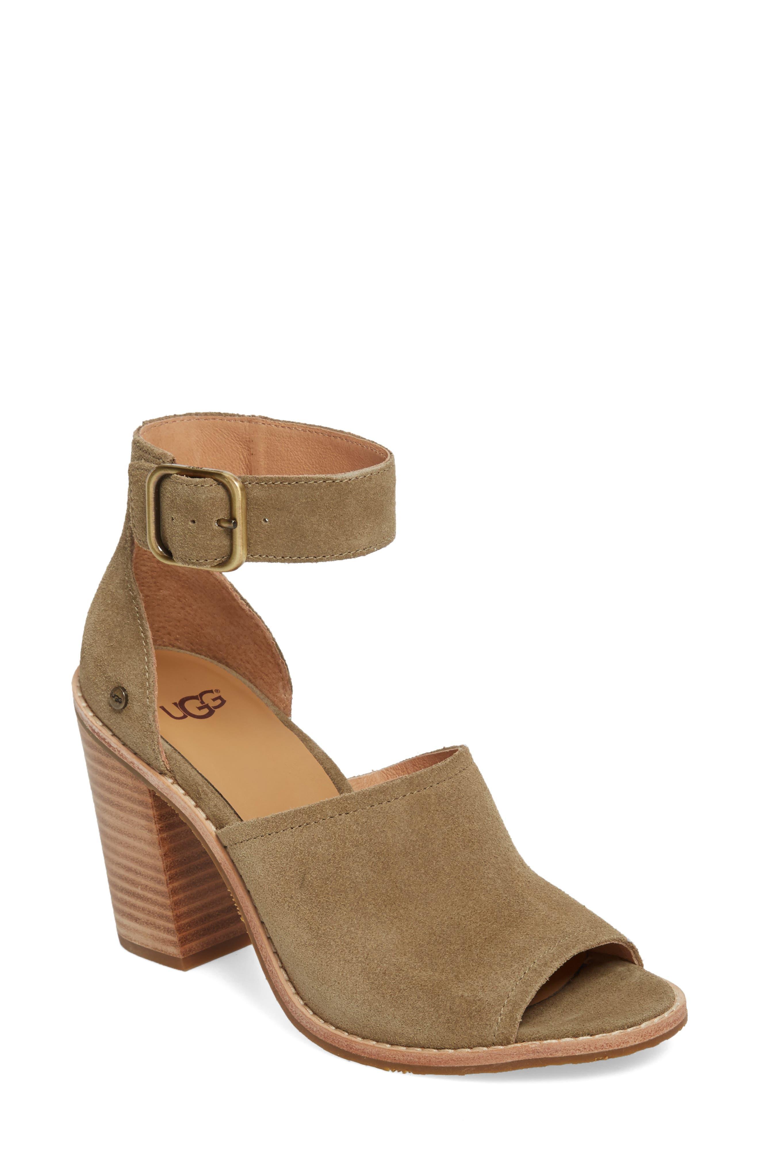 UGG® Aja Ankle Strap Sandal (Women)