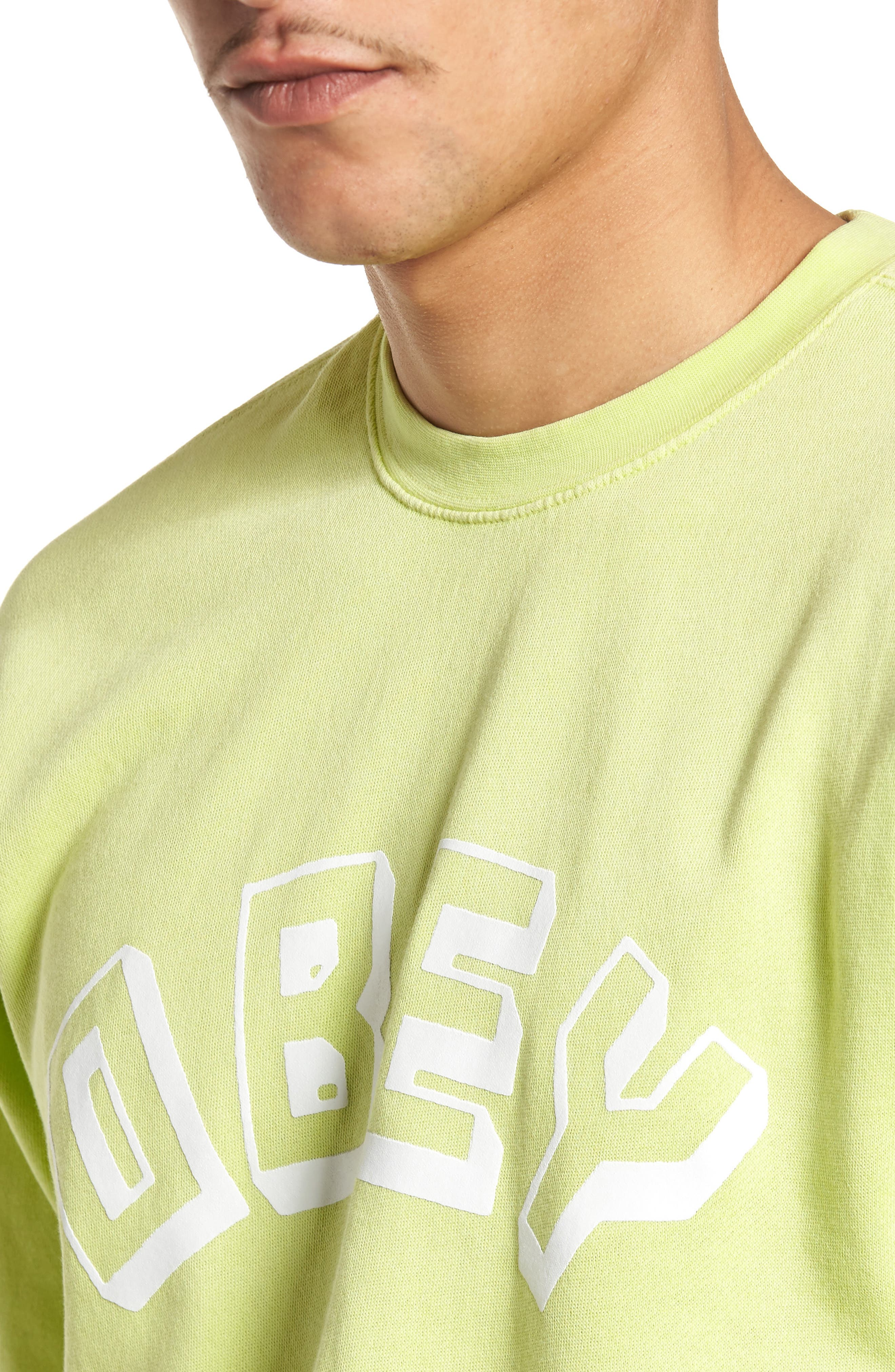 New World Sweatshirt,                             Alternate thumbnail 4, color,                             Dusty Mint