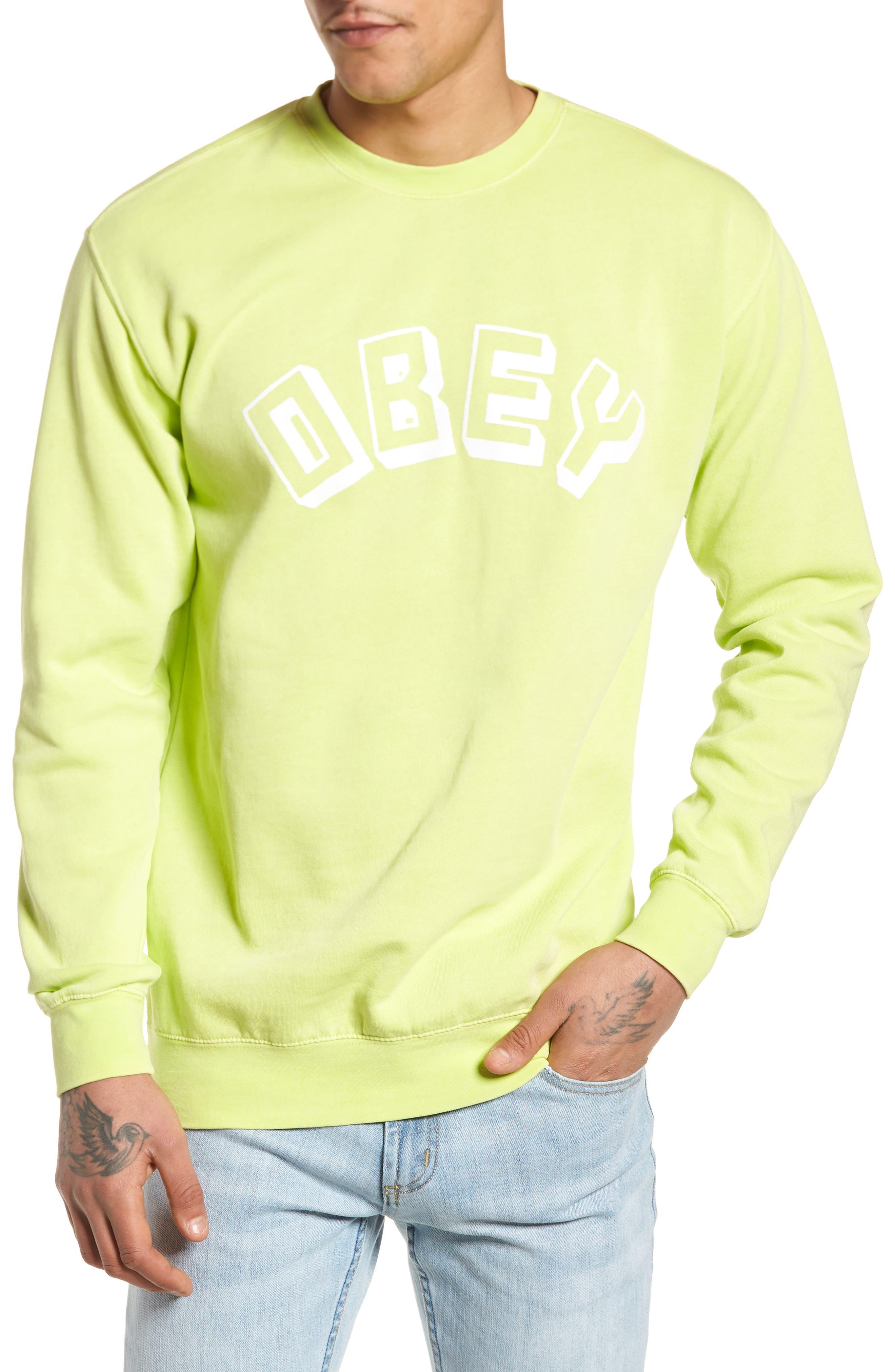 New World Sweatshirt,                         Main,                         color, Dusty Mint
