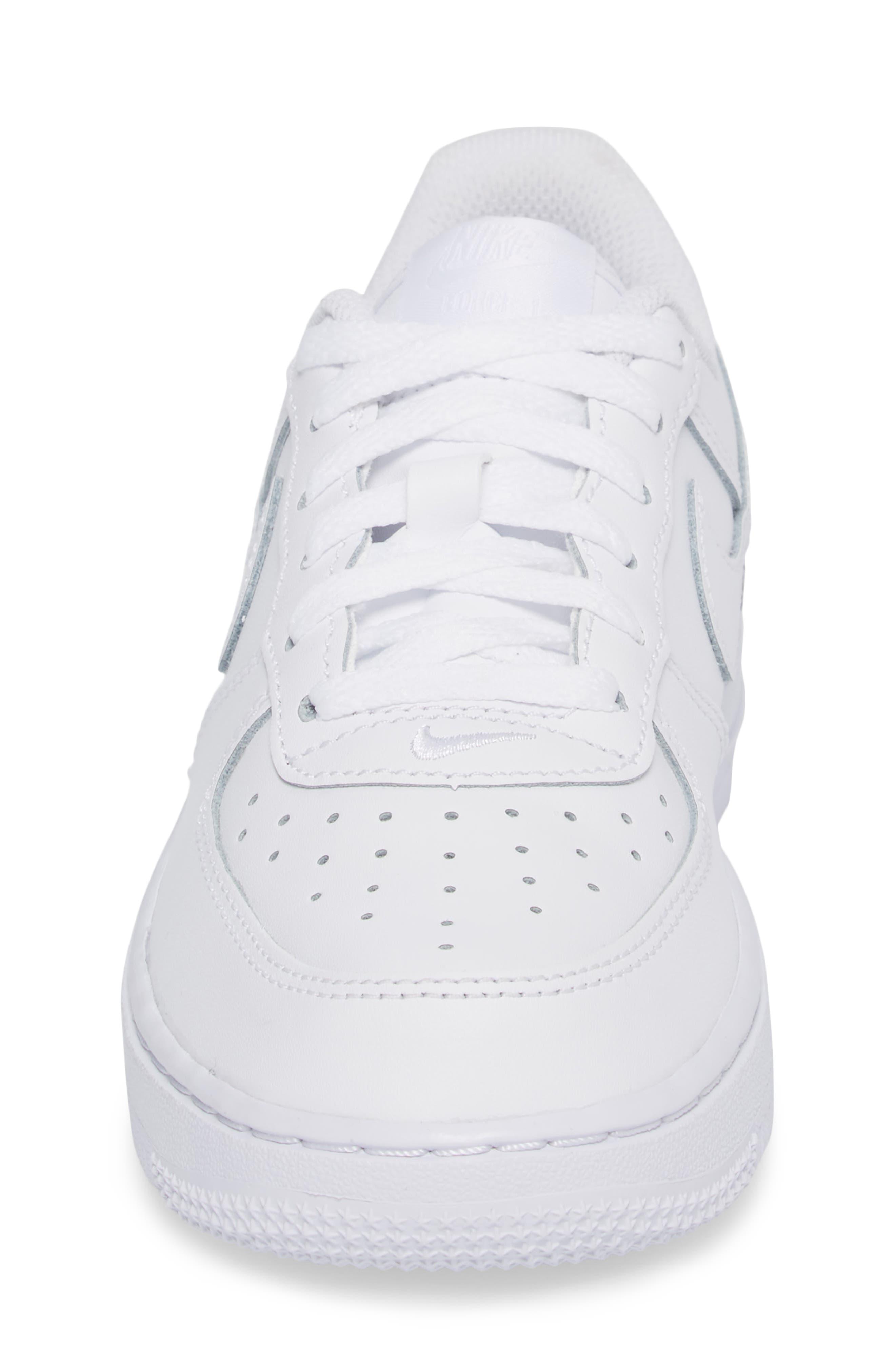 Alternate Image 4  - Nike Air Force 1 Sneaker (Toddler & Little Kid)