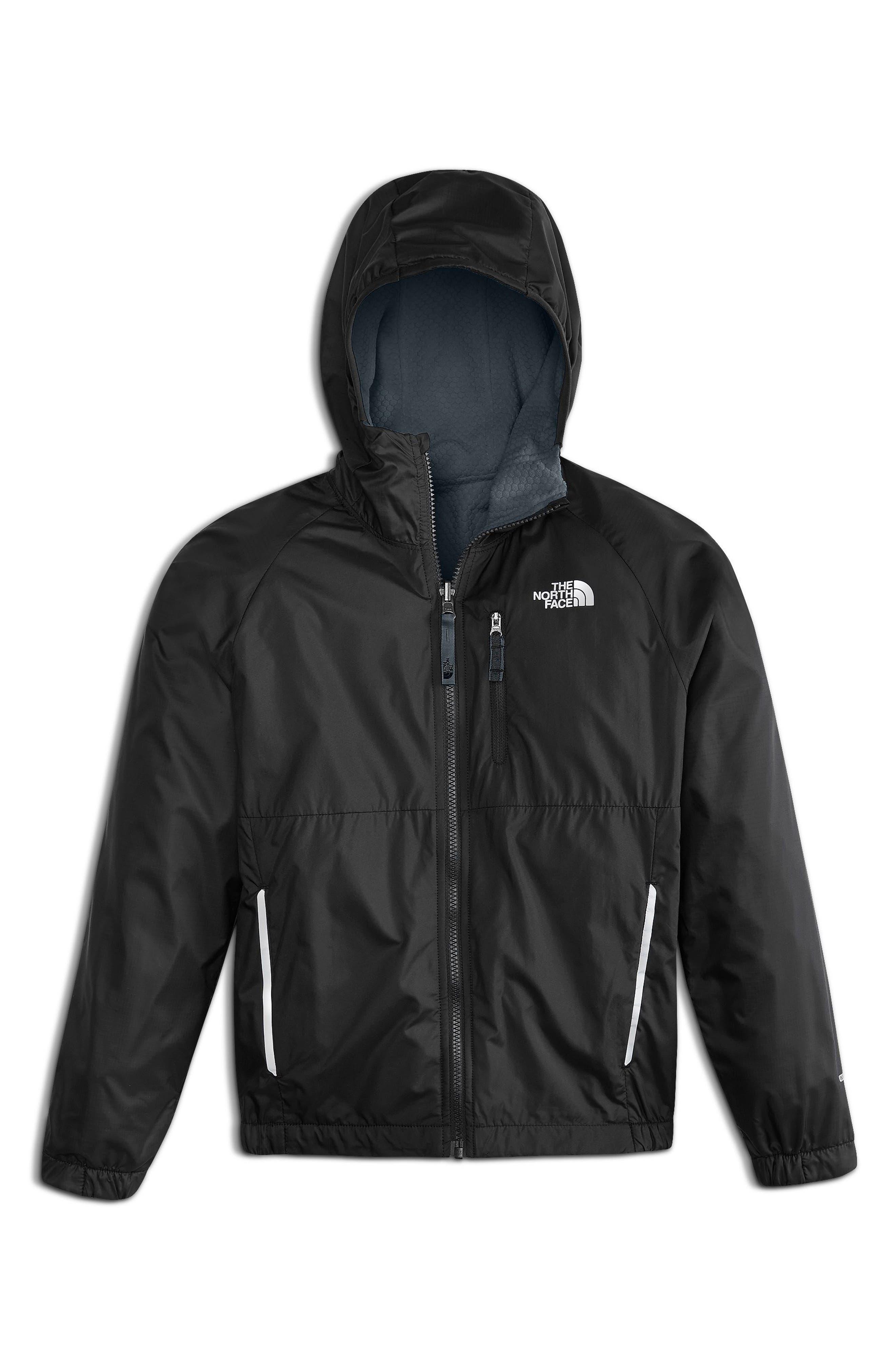 Breezeway Reversible Wind Jacket,                         Main,                         color, Tnf Black