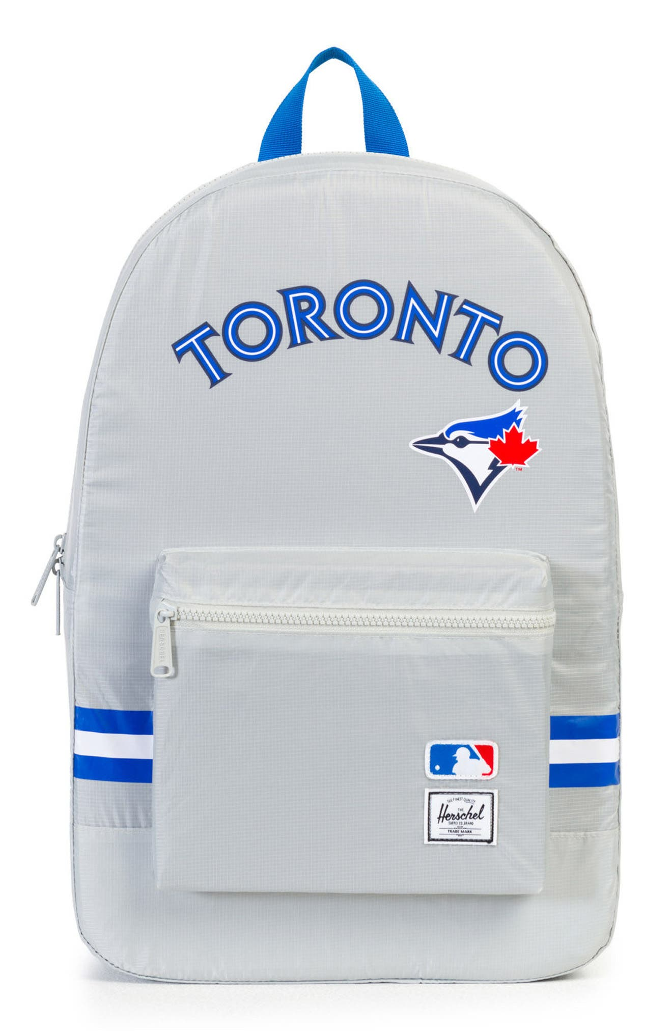 9494176afb8c Herschel Supply Co. Packable - Mlb American League Backpack - Grey In  Toronto Blue Jays