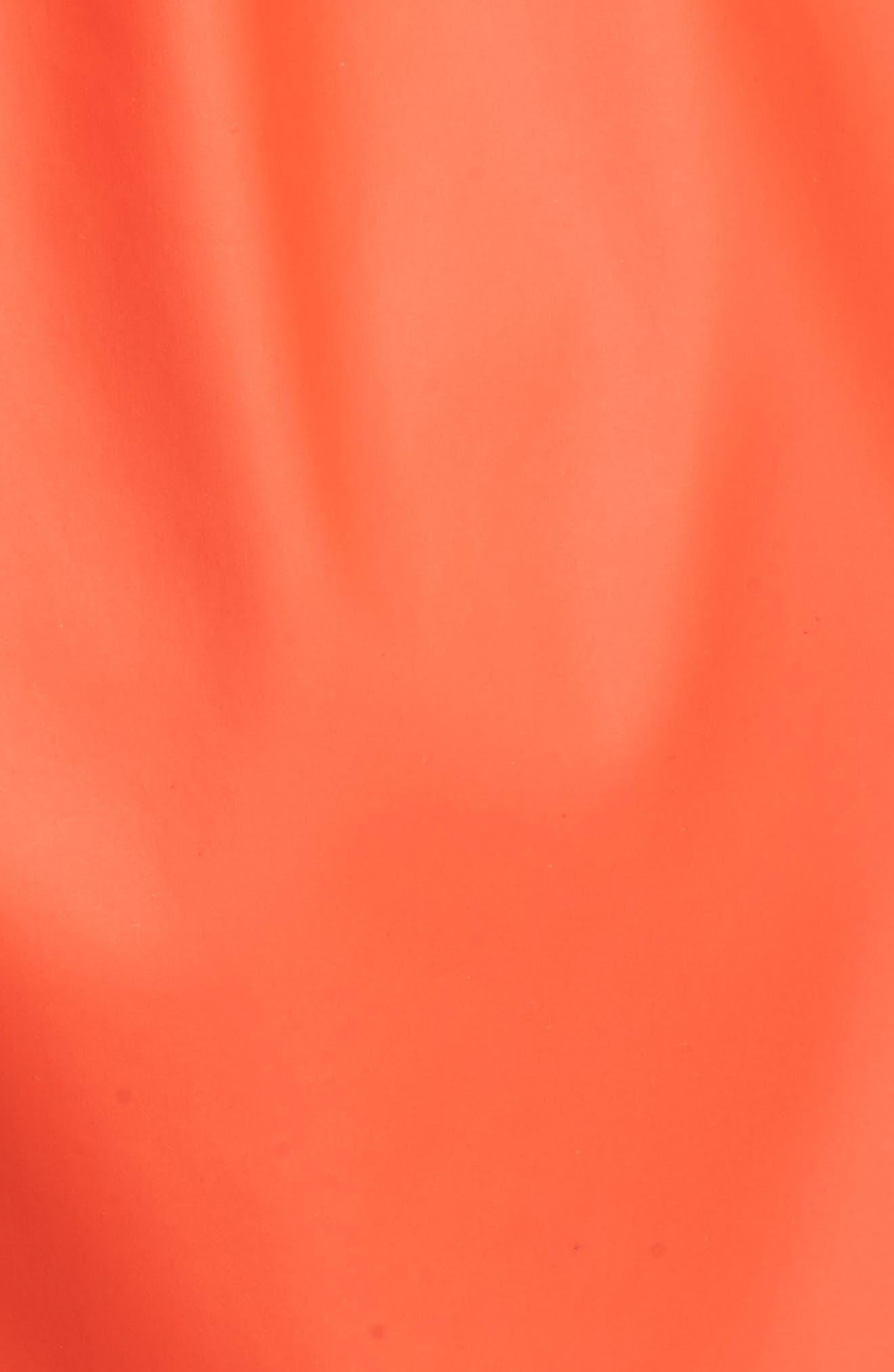 Harbour Hooded Jacket,                             Alternate thumbnail 5, color,                             Signal Orange
