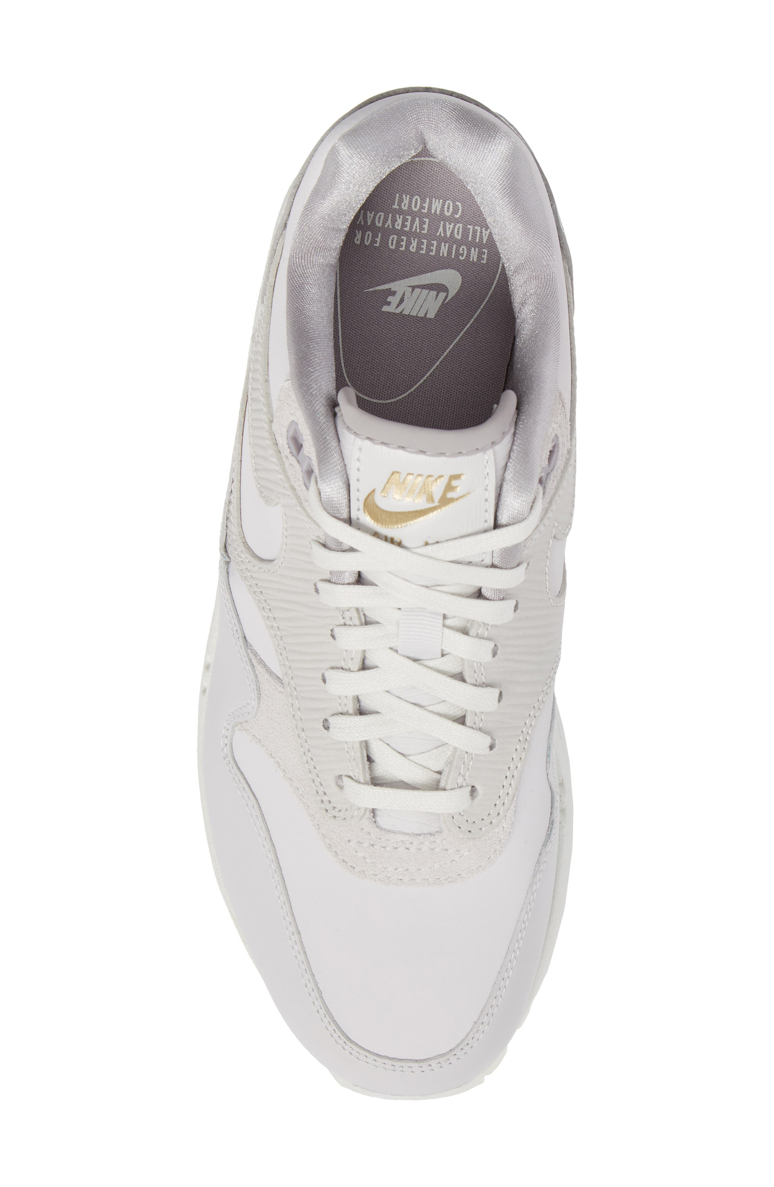 Alternate Image 5  - Nike Air Max 1 Premium Sneaker (Women)