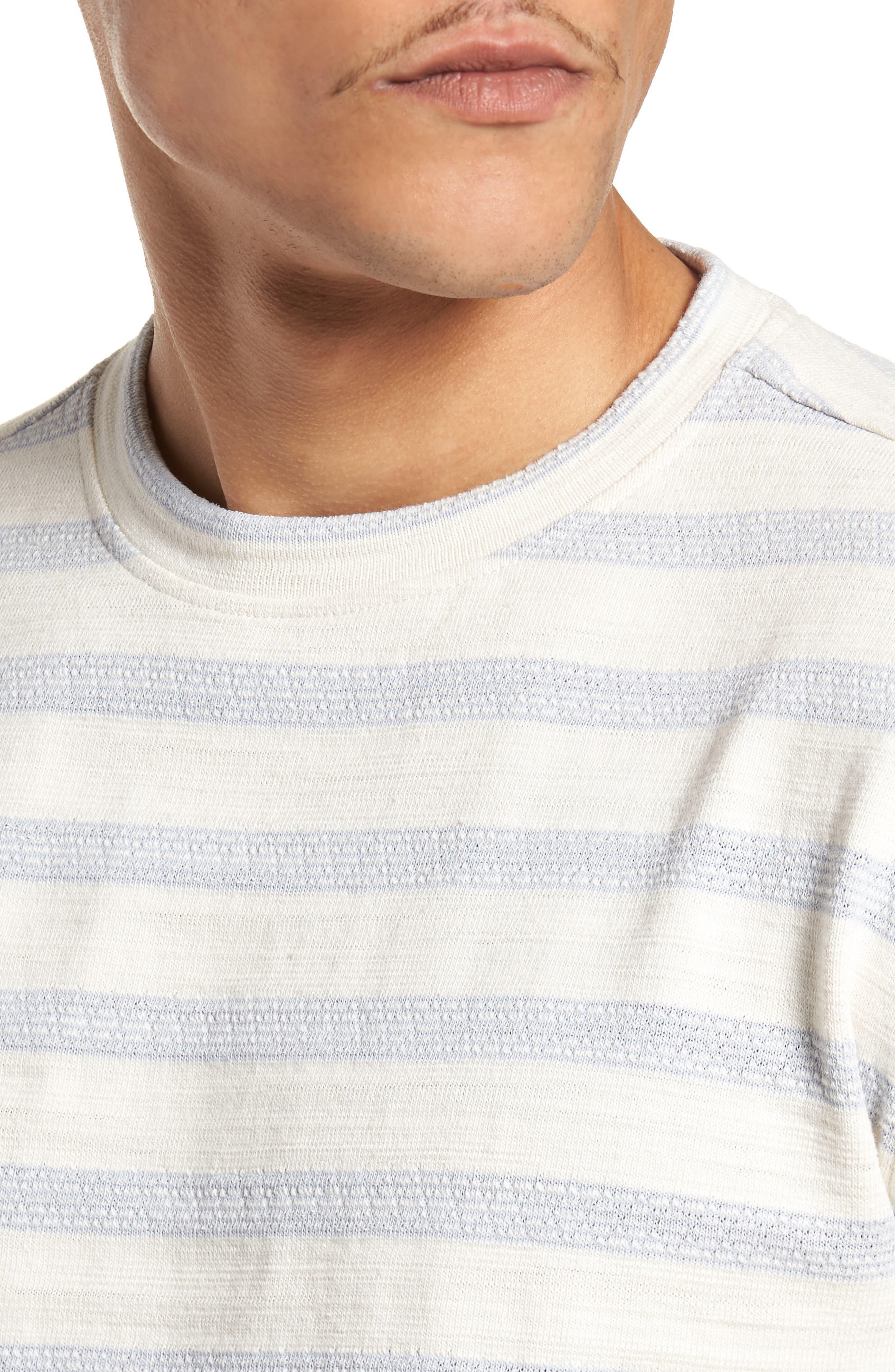 Waves T-Shirt,                             Alternate thumbnail 4, color,                             Off White