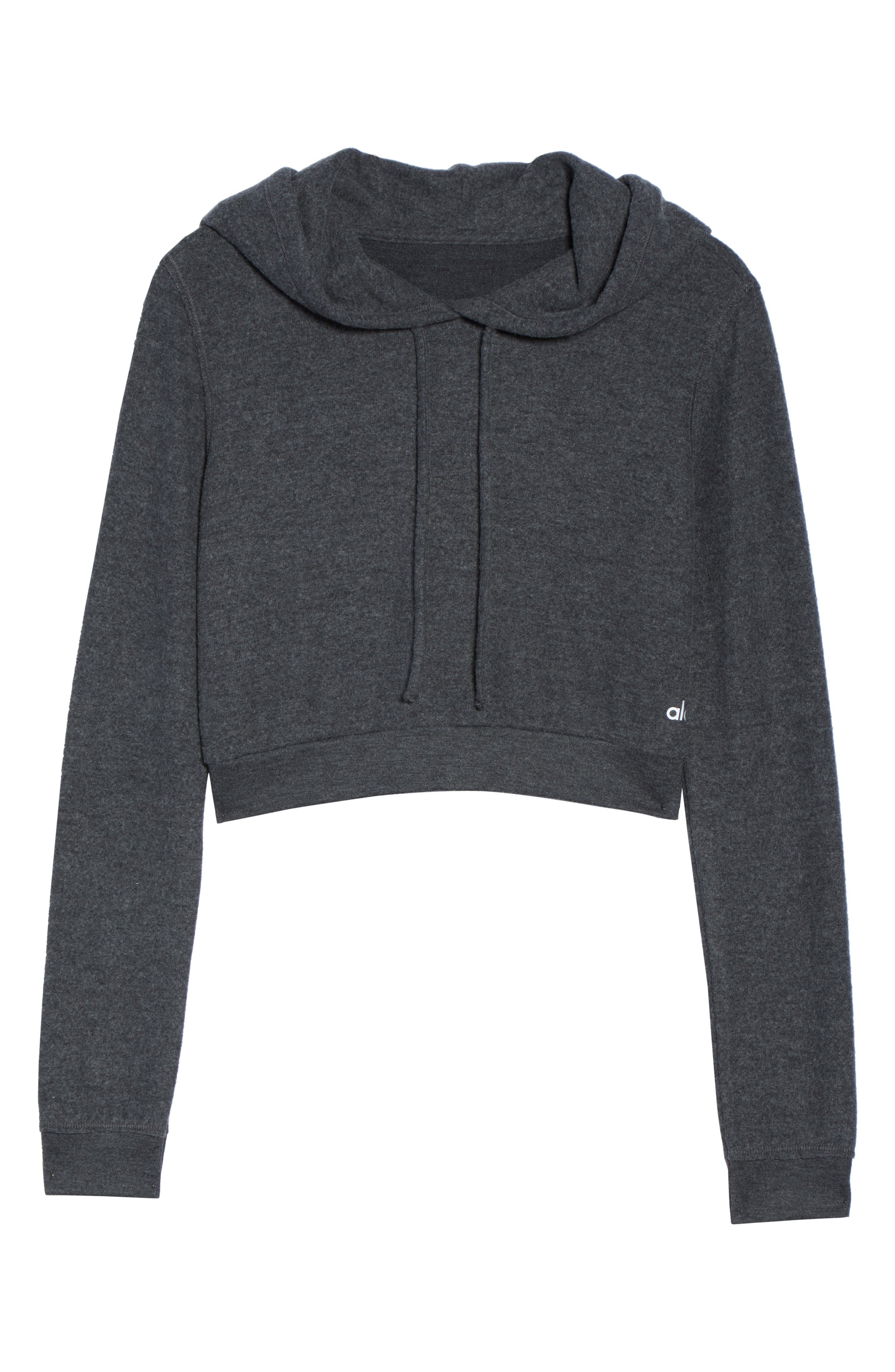 Getaway Hoodie,                             Alternate thumbnail 7, color,                             Anthracite Heather