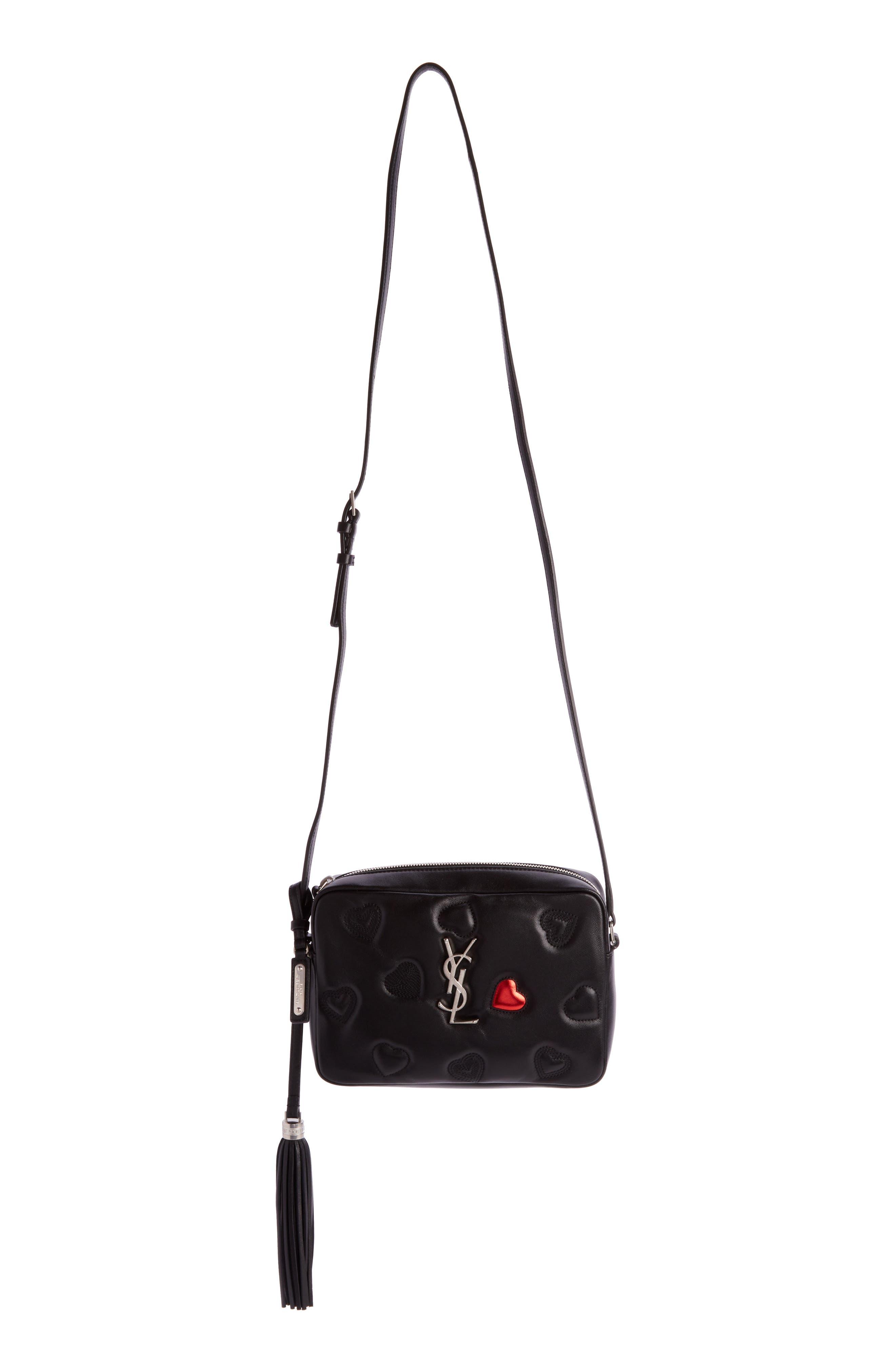 Saint Laurent Medium Lou Lambskin Leather Camera Bag