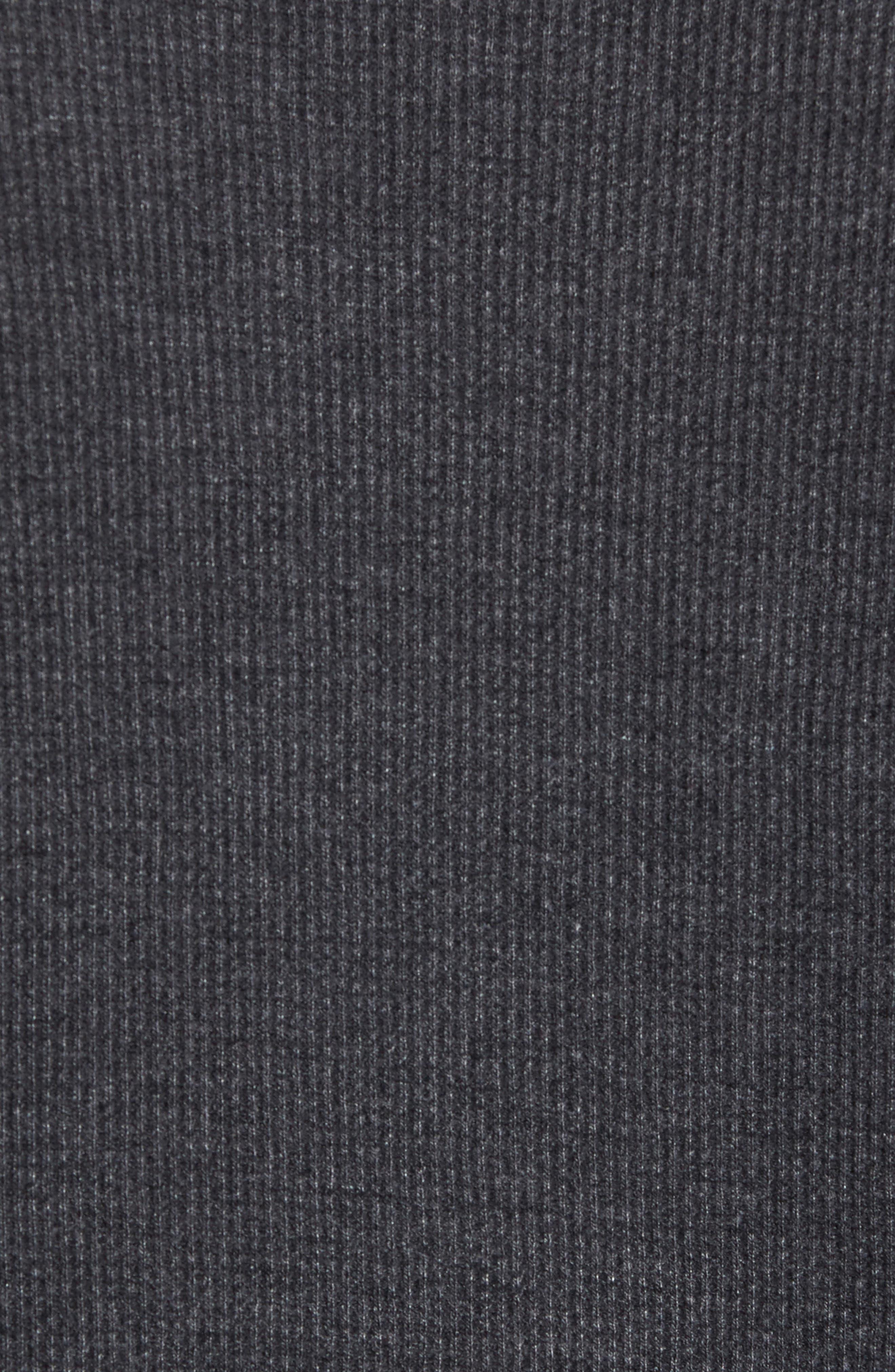 Boston Bruins Embroidered Long Sleeve Thermal Shirt,                             Alternate thumbnail 5, color,                             Black
