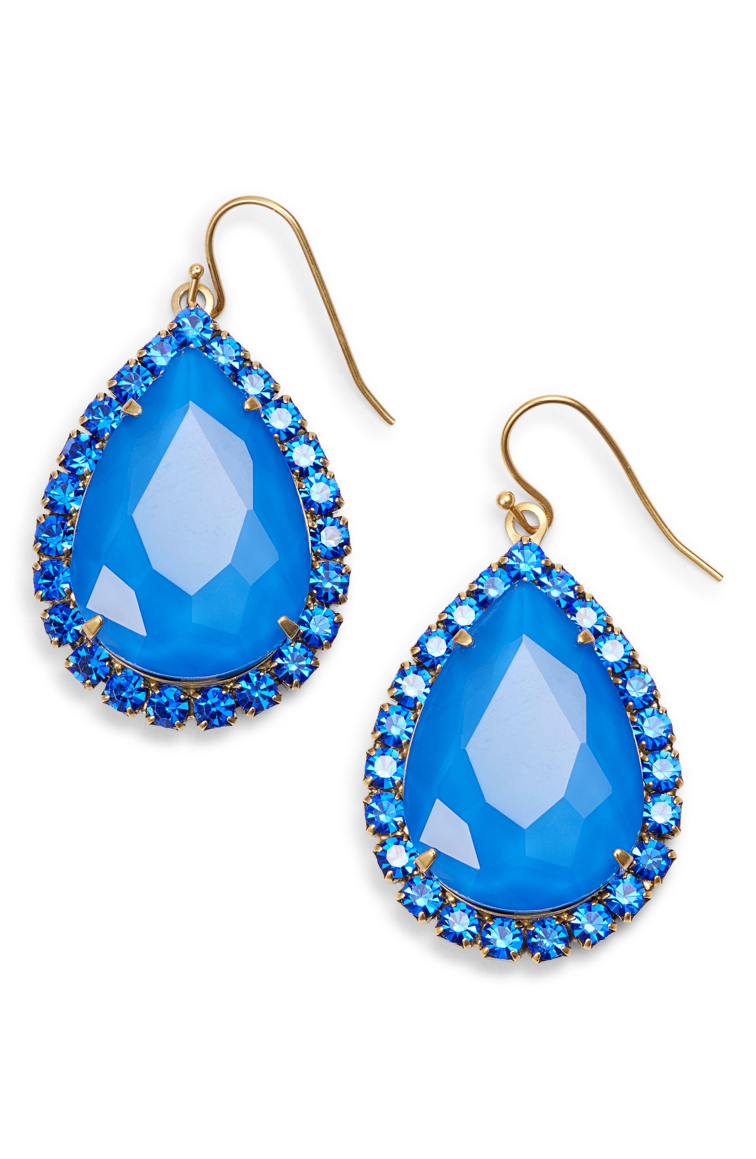 Main Image - Loren Hope Krista Crystal Drop Earrings