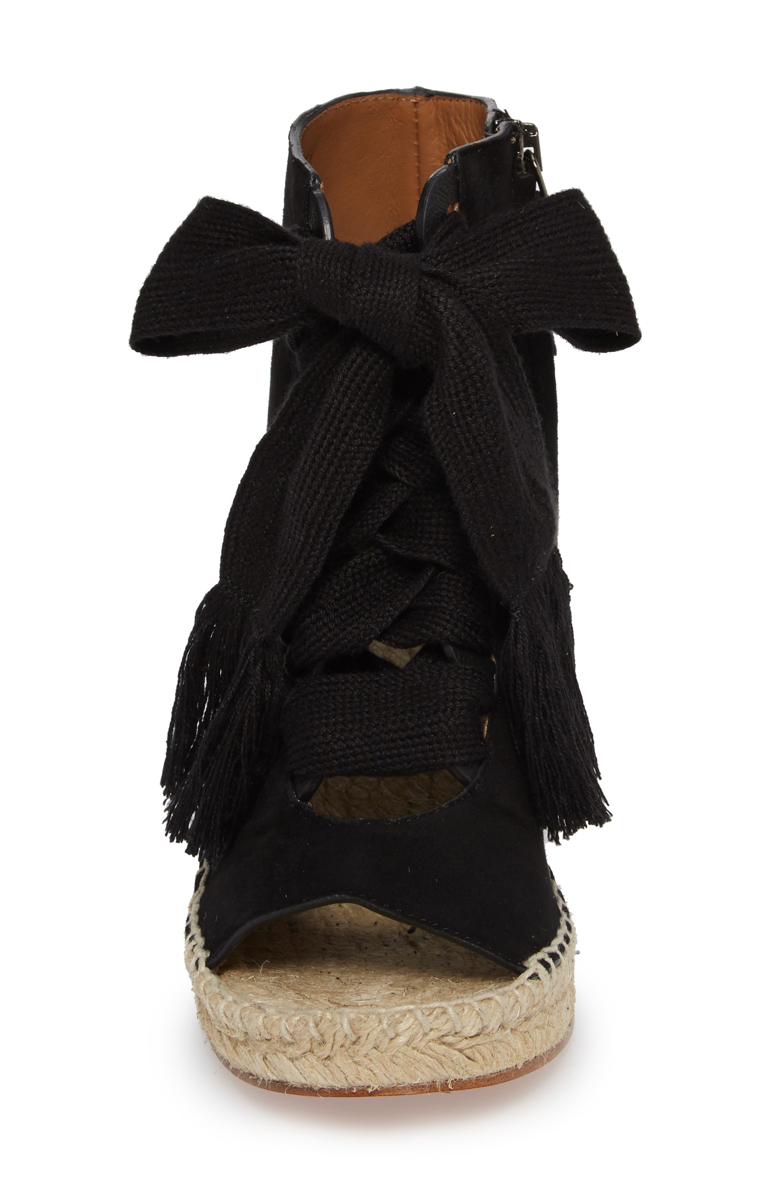 Alternate Image 4  - Chloé Harper Peep Toe Espadrille Bootie (Women)