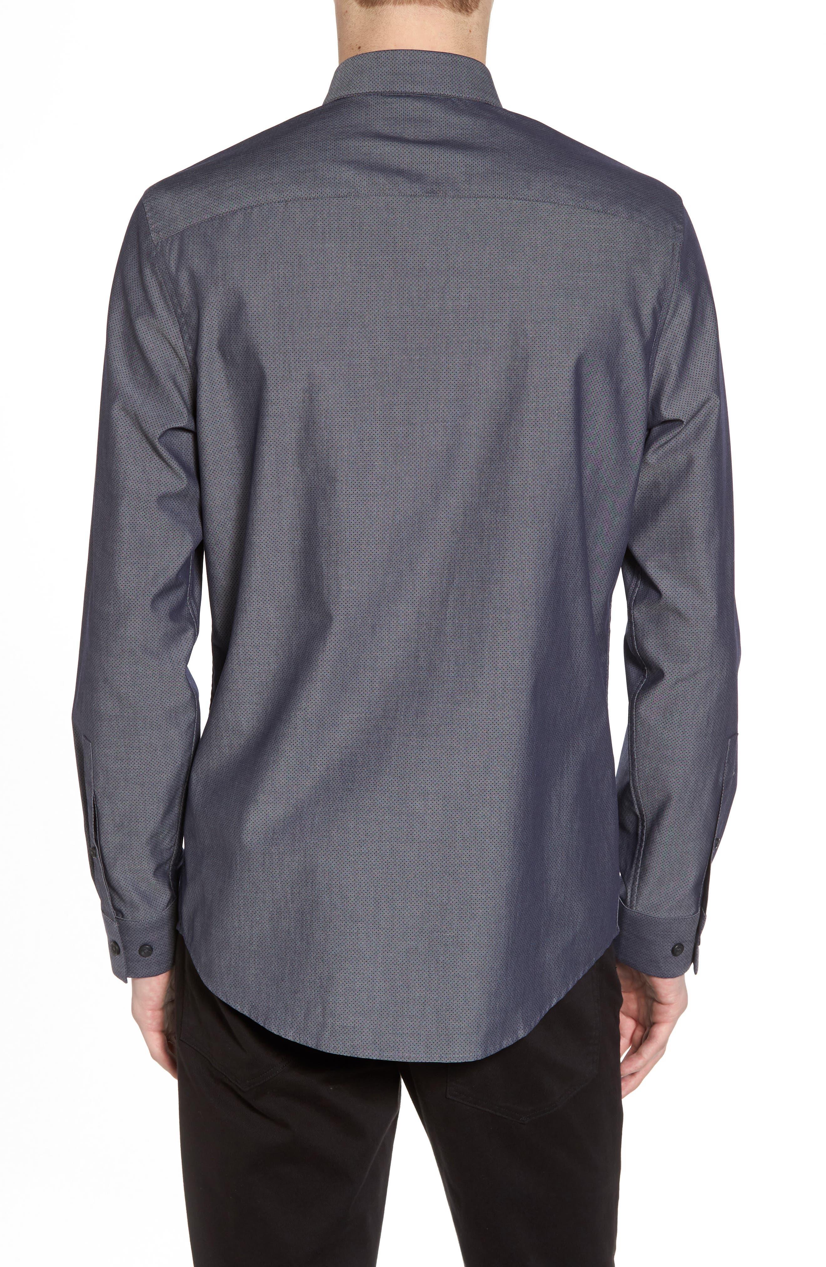 Alternate Image 3  - Calibrate Slim Fit Solid Sport Shirt