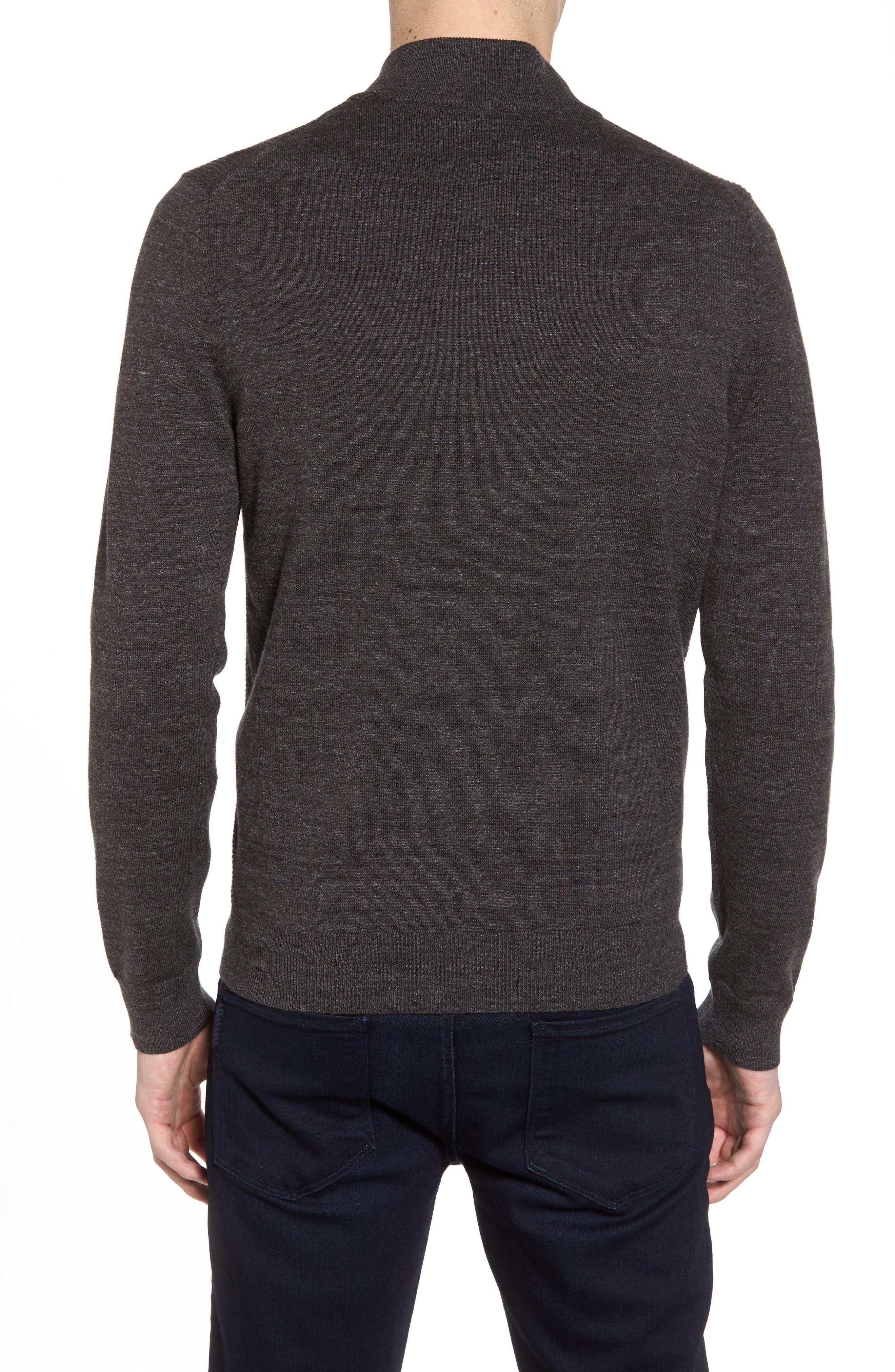 Devino Cotton Zip Jacket,                             Alternate thumbnail 2, color,                             Grey