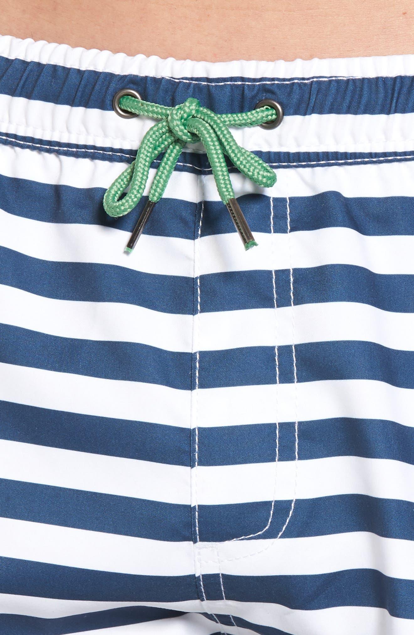 Abalone Swim Trunks,                             Alternate thumbnail 4, color,                             Blue