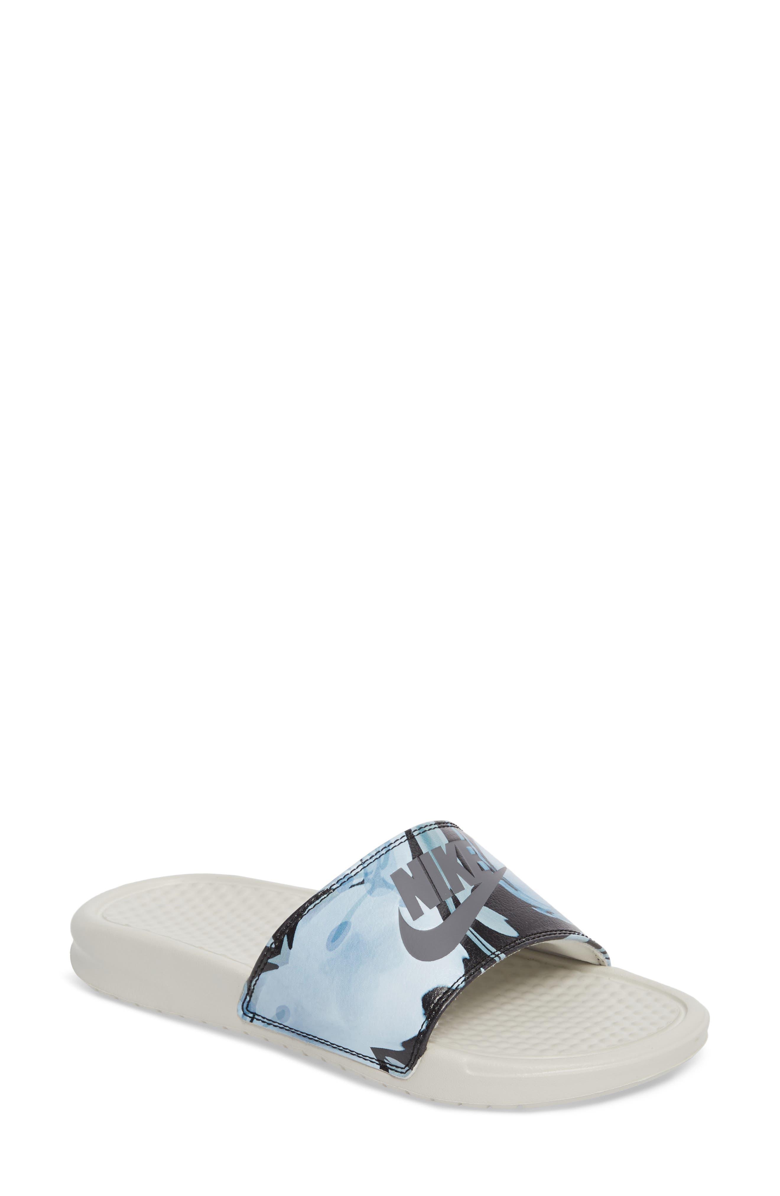 Main Image - Nike 'Benassi - Just Do It' Print Sandal (Women)
