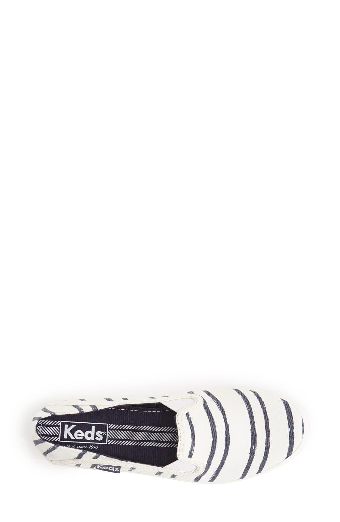 Alternate Image 3  - Keds® 'Crashback - Washed Beach Stripe' Slip-On Sneaker (Women)