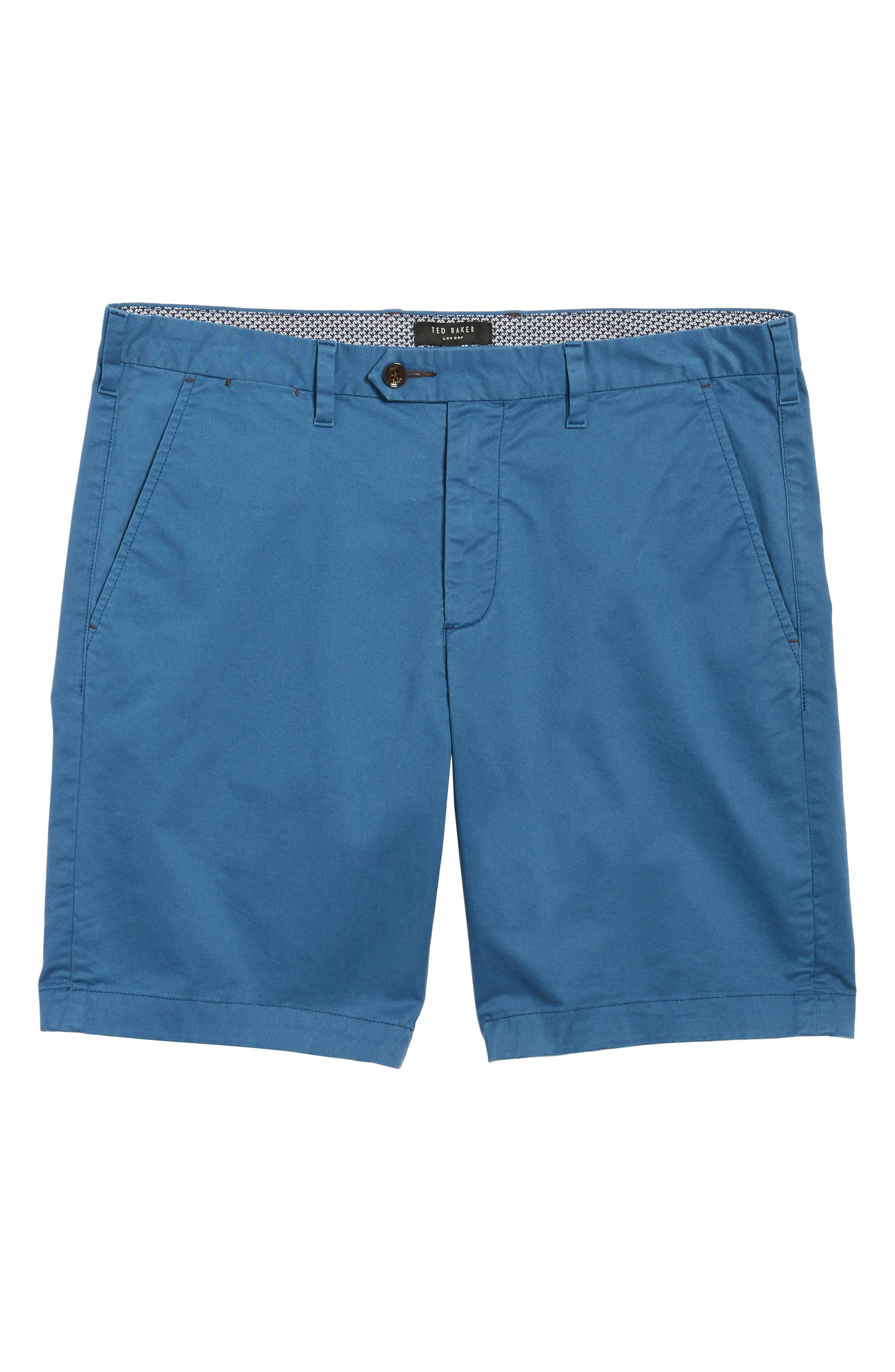 Proshor Slim Fit Chino Shorts,                             Alternate thumbnail 11, color,                             Dark Blue