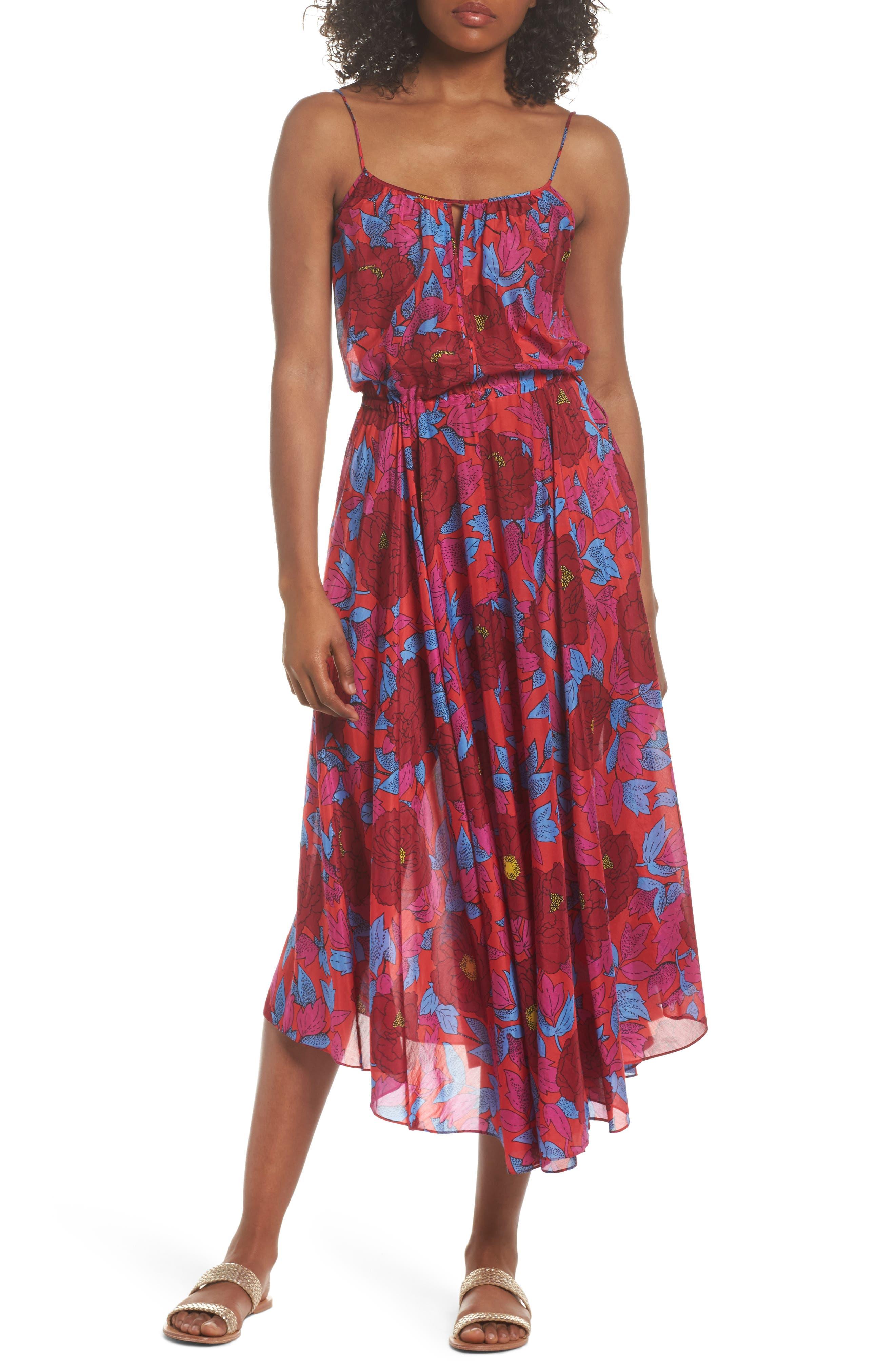 Diane Von Furstenberg Maxi Dress Cover-Up