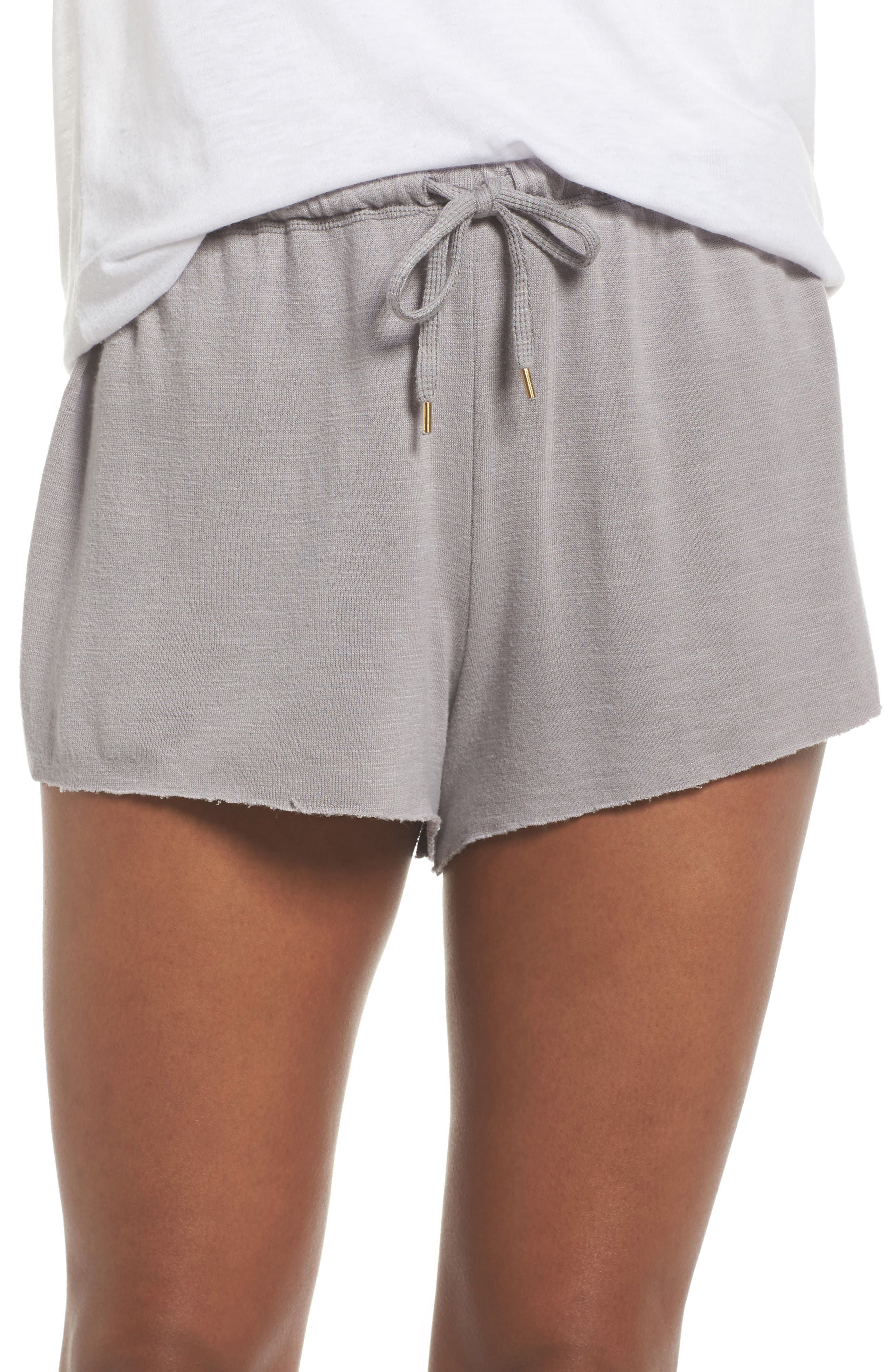 French Terry Lounge Shorts,                         Main,                         color, Katana