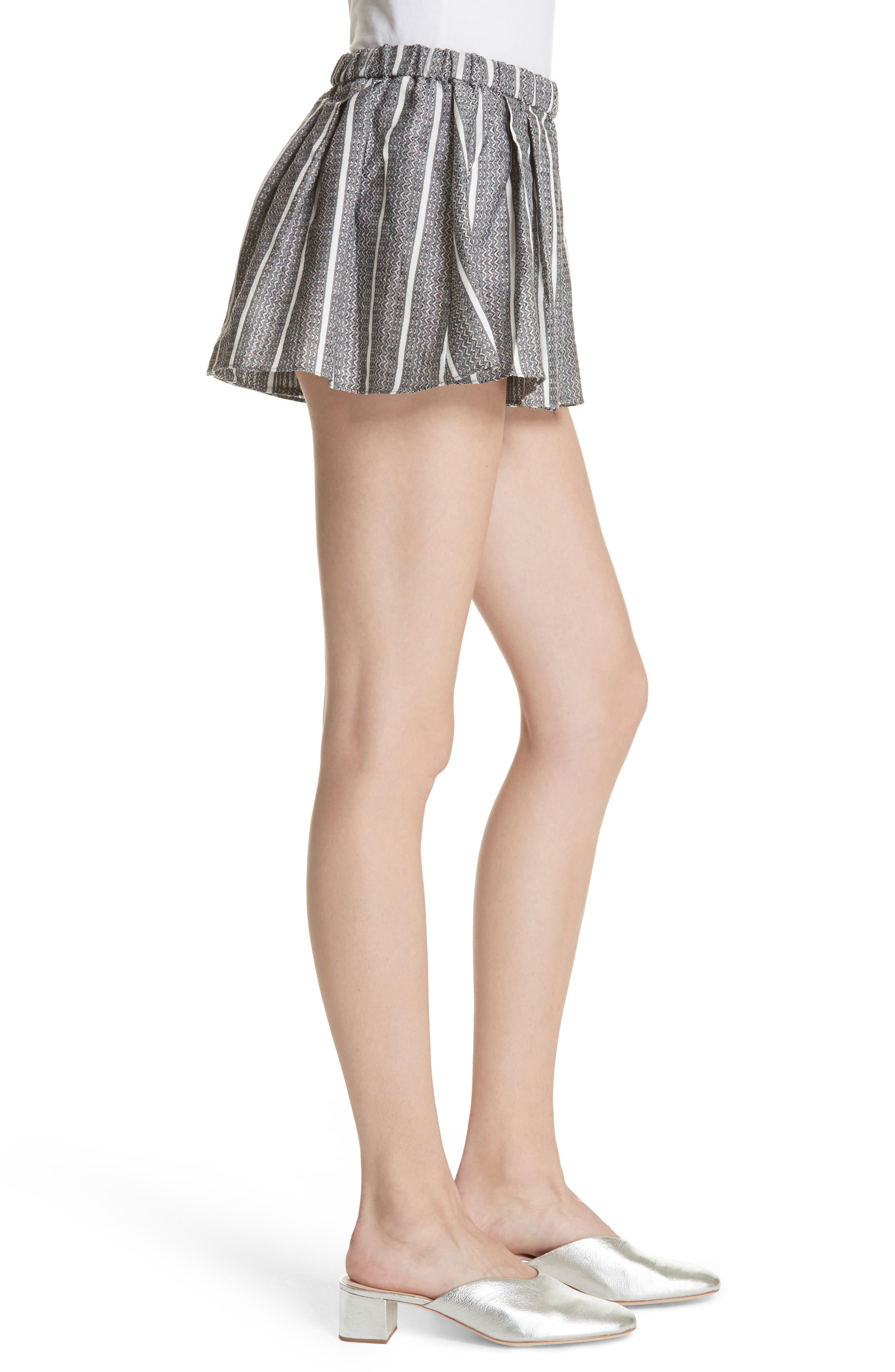 Alternate Image 3  - Caroline Constas Pleated Shorts
