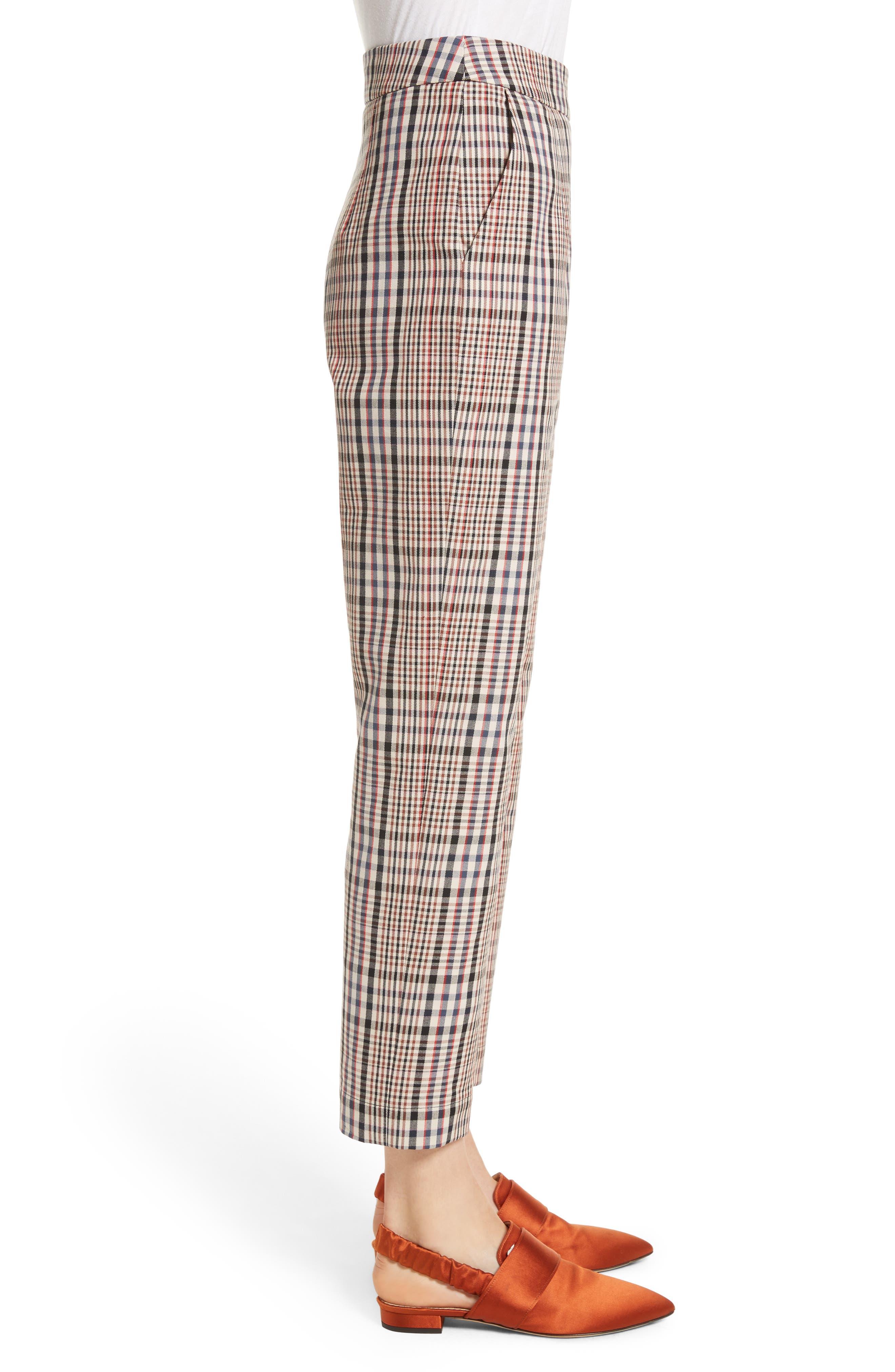 Classic Pantalone Crop Pants,                             Alternate thumbnail 3, color,                             Brighton