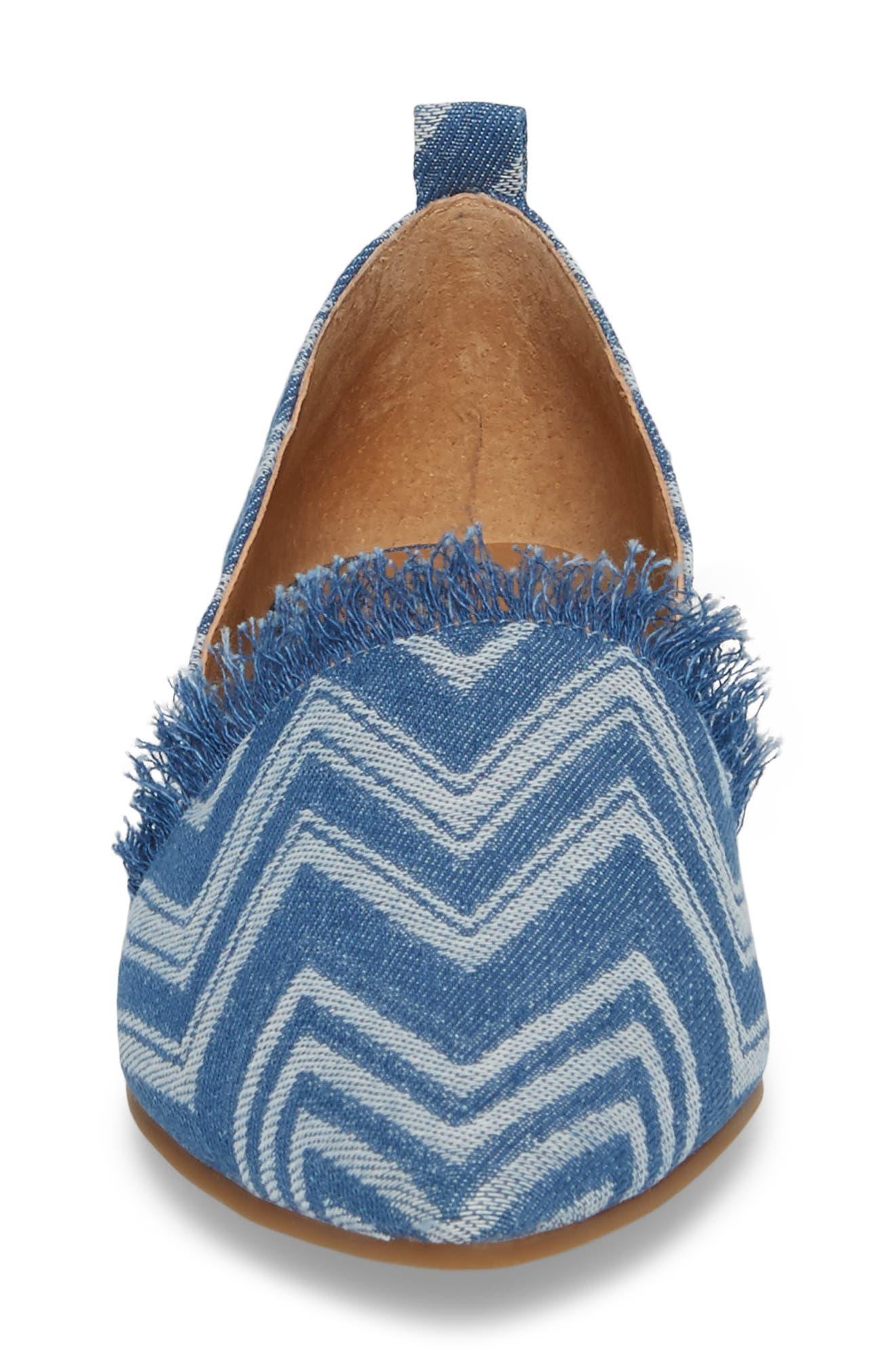 Alternate Image 4  - Lucky Brand Beechmer Pointy Toe Flat (Women)