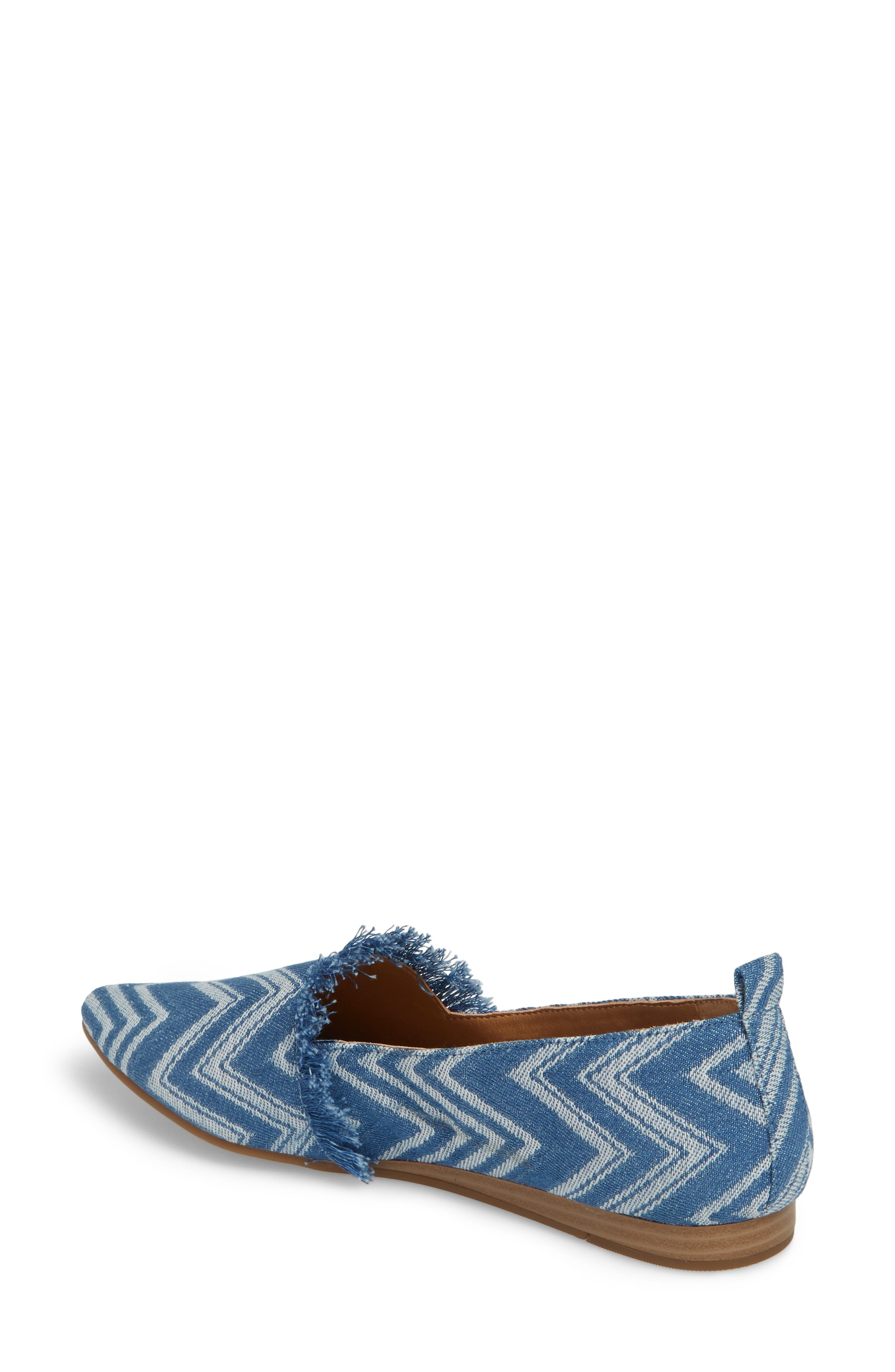 Alternate Image 2  - Lucky Brand Beechmer Pointy Toe Flat (Women)