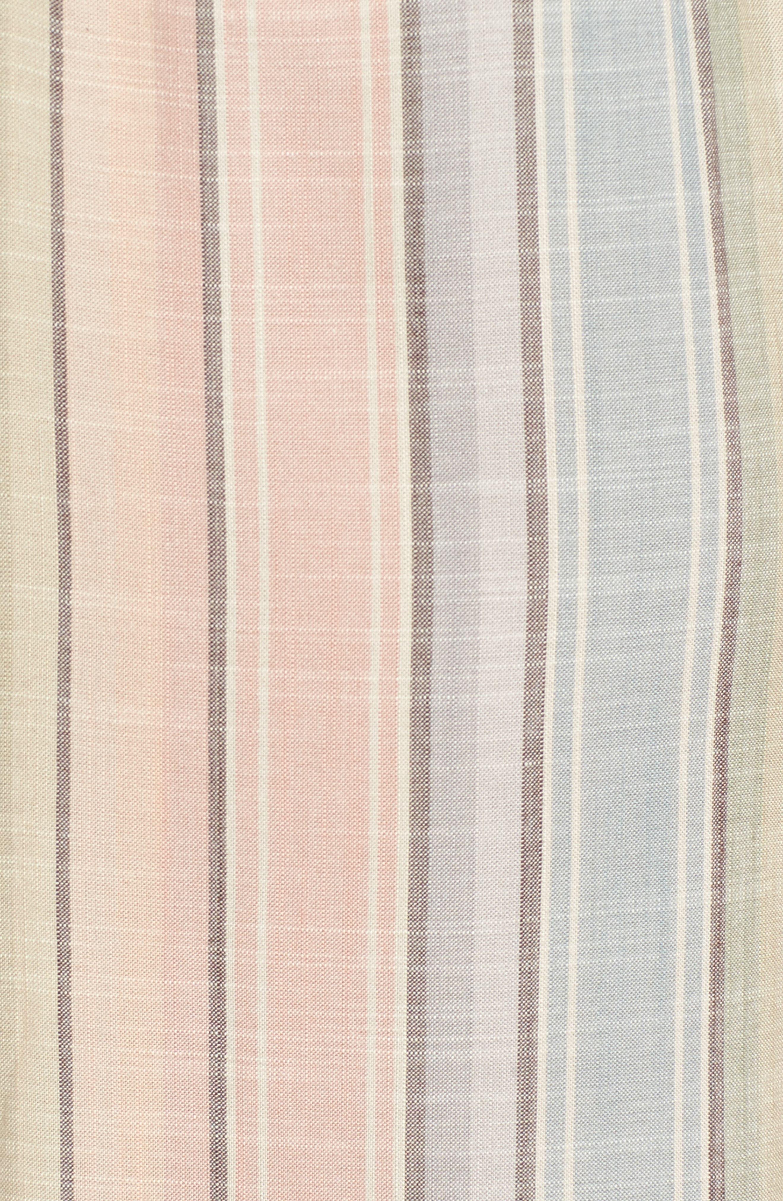 Dunaway Wide Leg Jumpsuit,                             Alternate thumbnail 5, color,                             Nevada Stripe