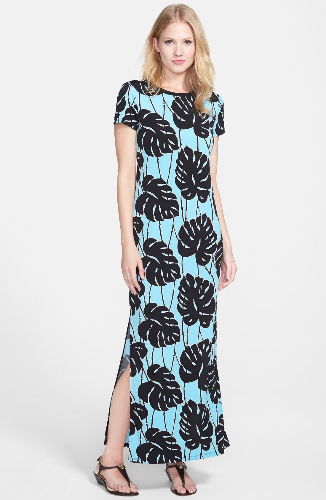 Alternate Image 1 Selected - MICHAEL Michael Kors 'Tropical Bay' Maxi Dress (Regular & Petite)