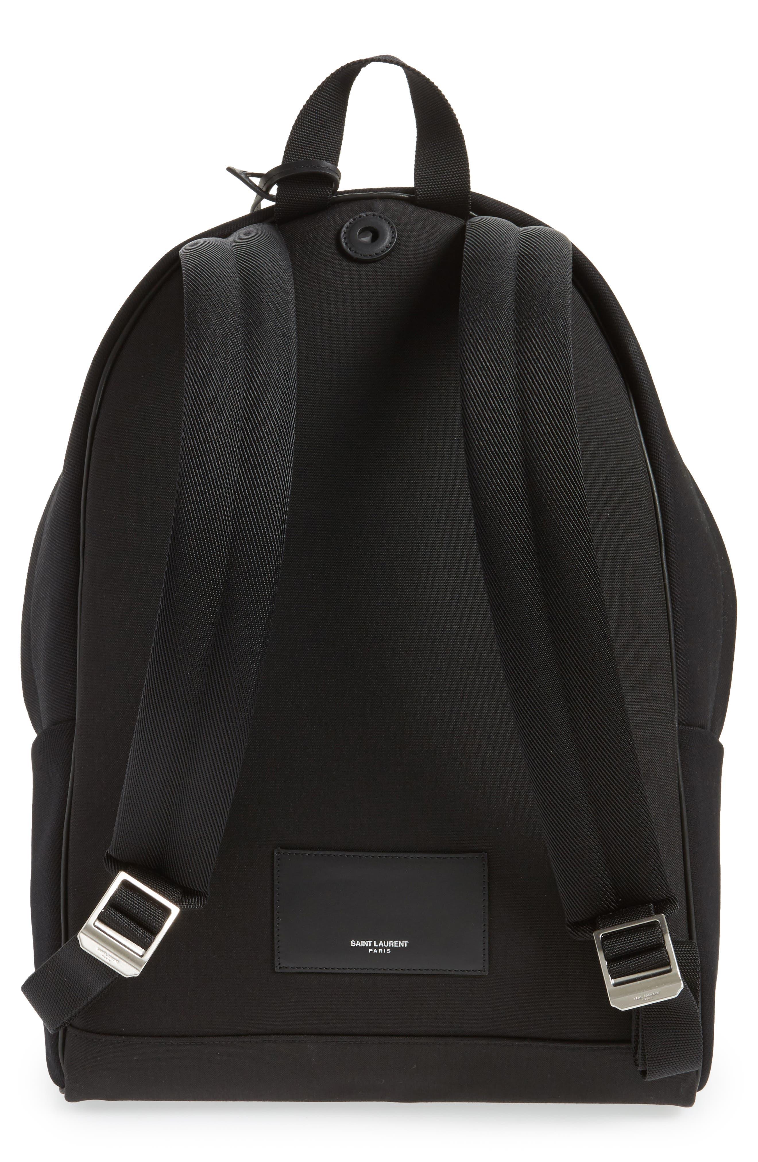 Pattern City Backpack,                             Alternate thumbnail 2, color,                             Black/ White