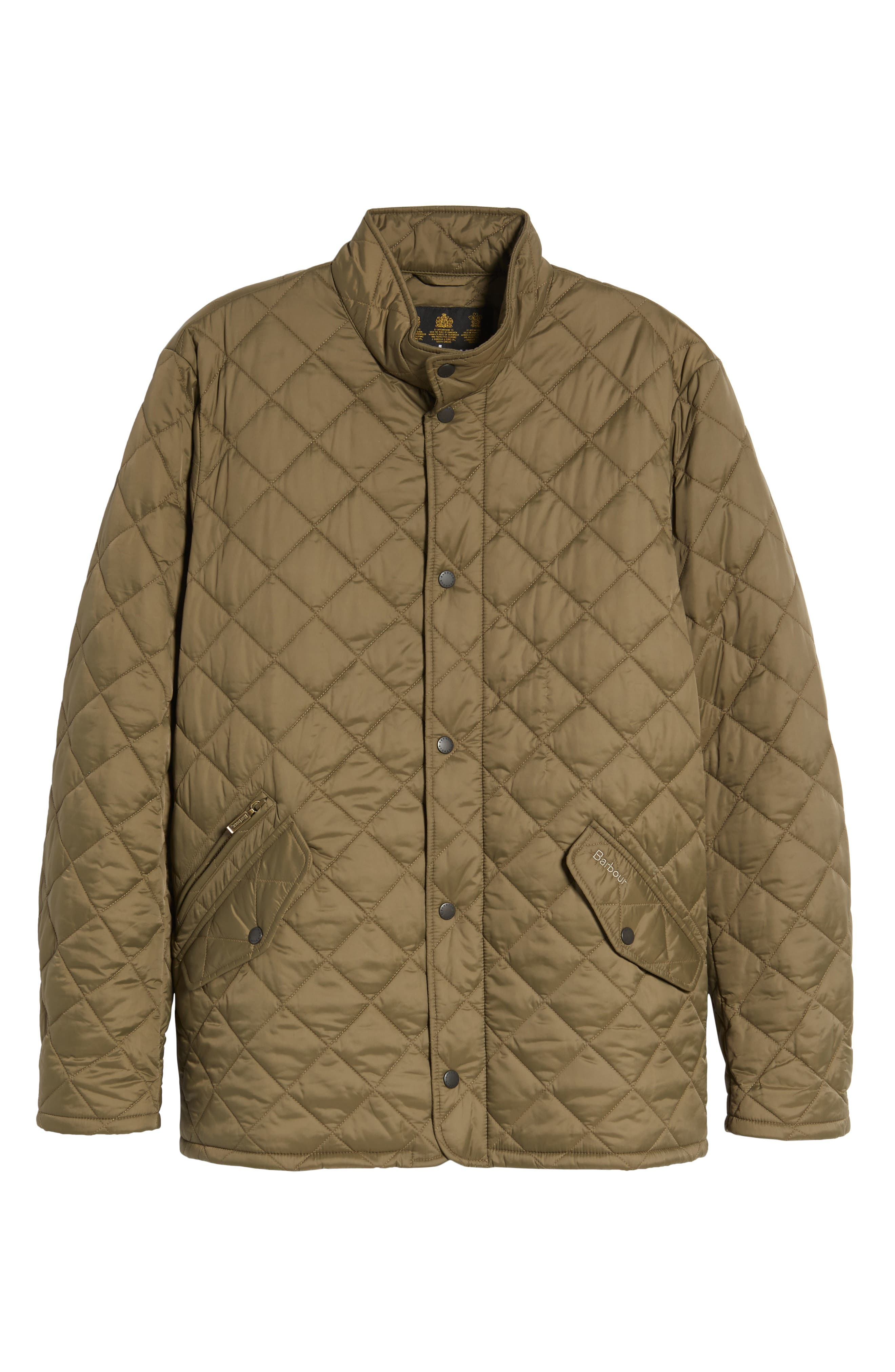 Flyweight Chelsea Quilted Jacket,                             Alternate thumbnail 6, color,                             Clay