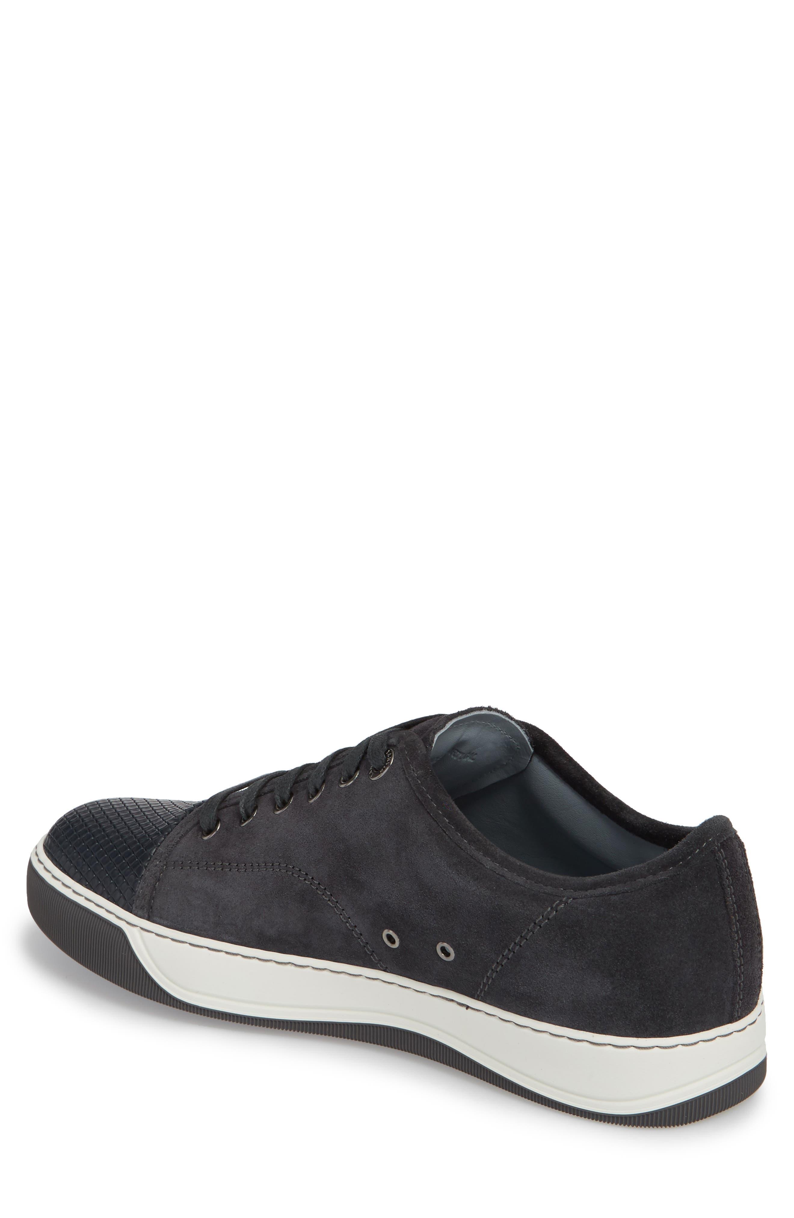 Alternate Image 2  - Lanvin Classic Textured Cap Toe Sneaker (Men)