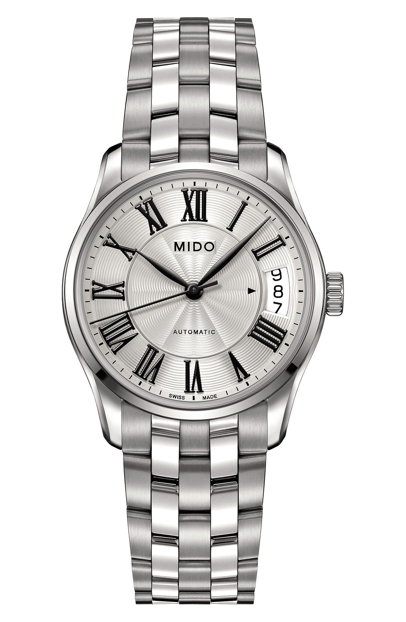 Main Image - Mido Belluna II Bracelet Watch, 33mm
