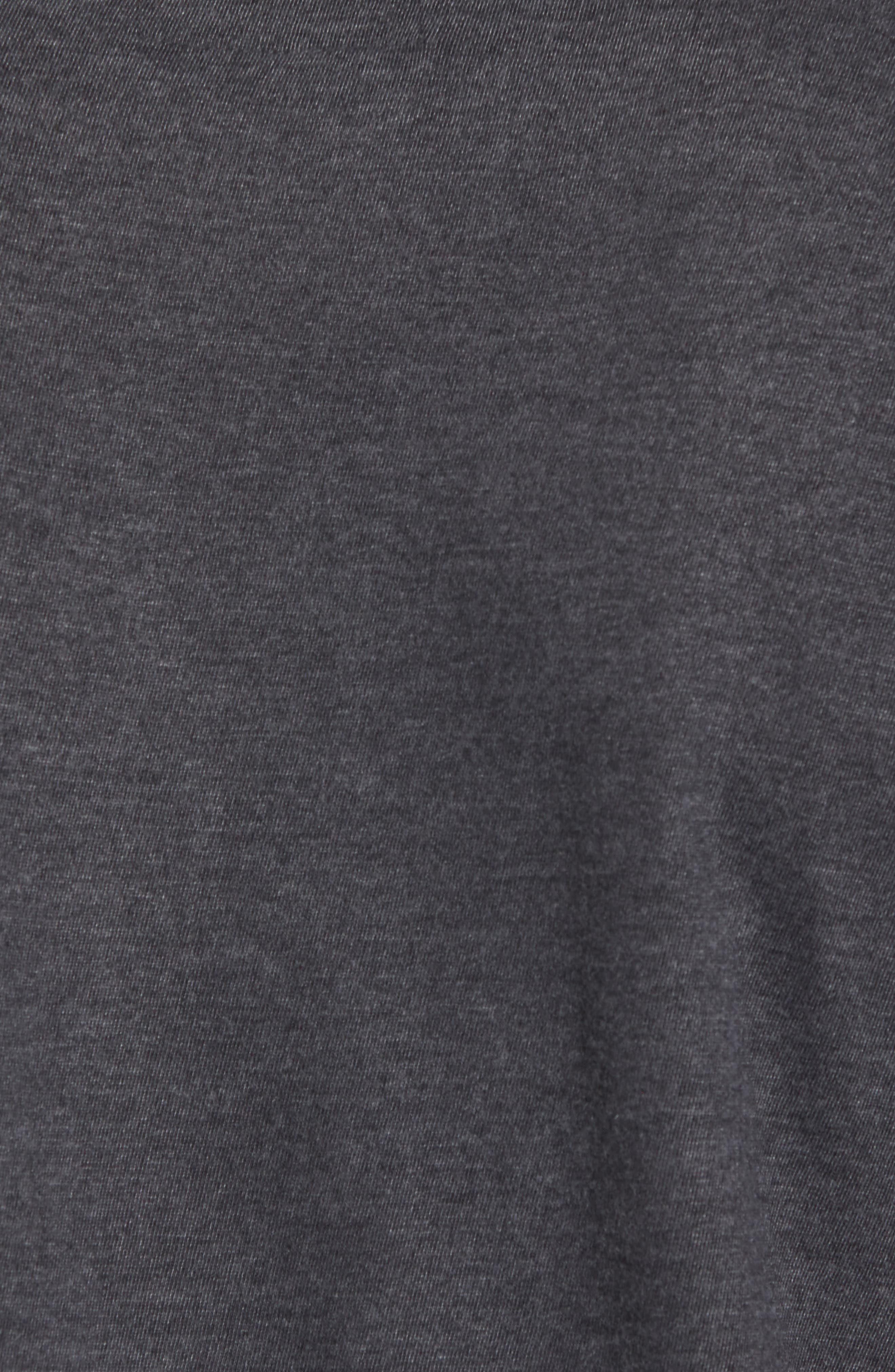 Hillwood Penguins T-Shirt,                             Alternate thumbnail 5, color,                             Heather Black