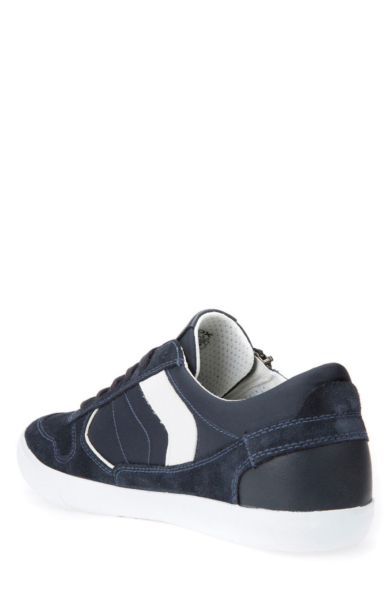 Box 33 Low Top Zip Sneaker,                             Alternate thumbnail 2, color,                             Navy