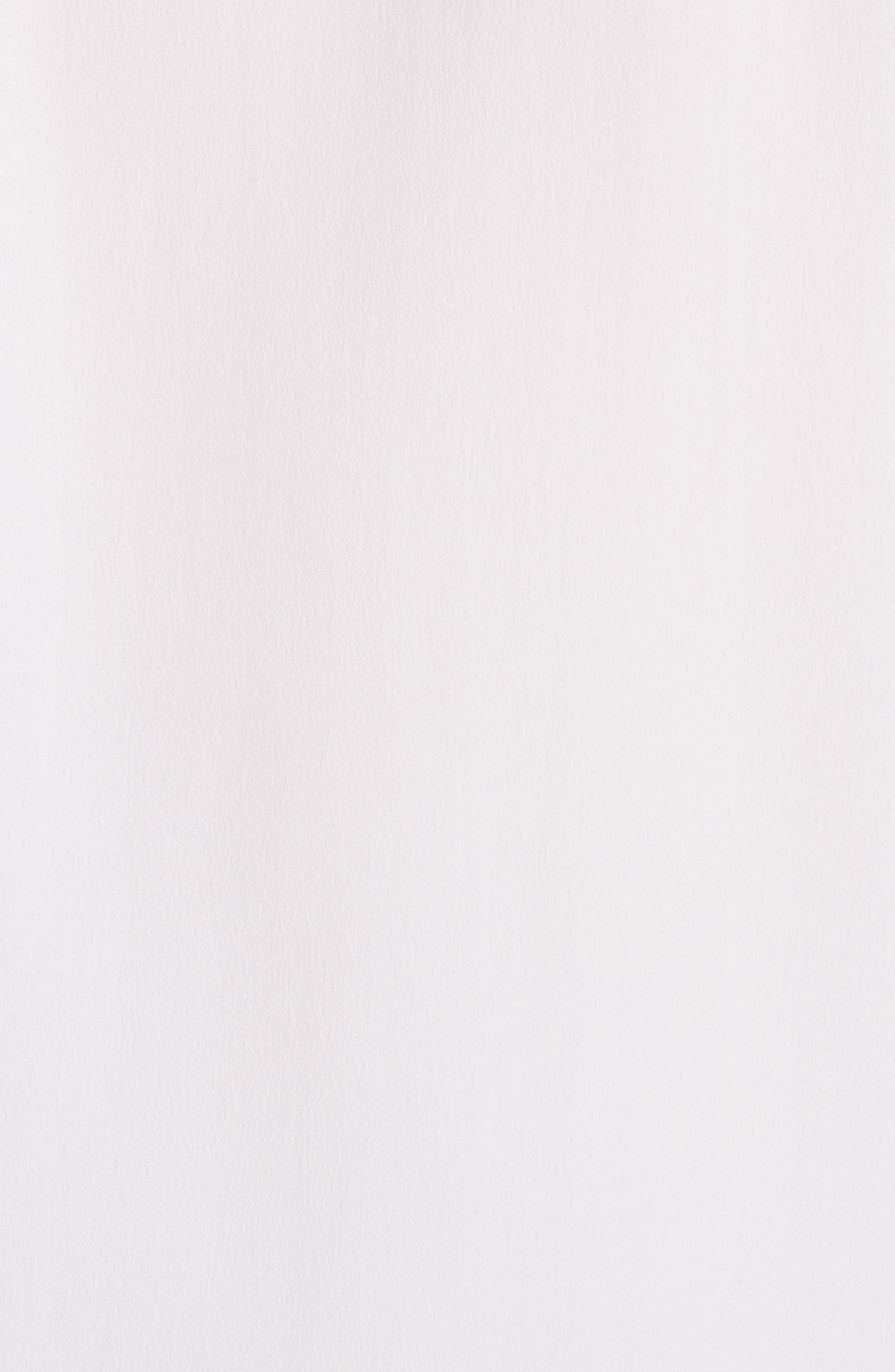 Mel Colorblock Silk Tank,                             Alternate thumbnail 5, color,                             Bright White