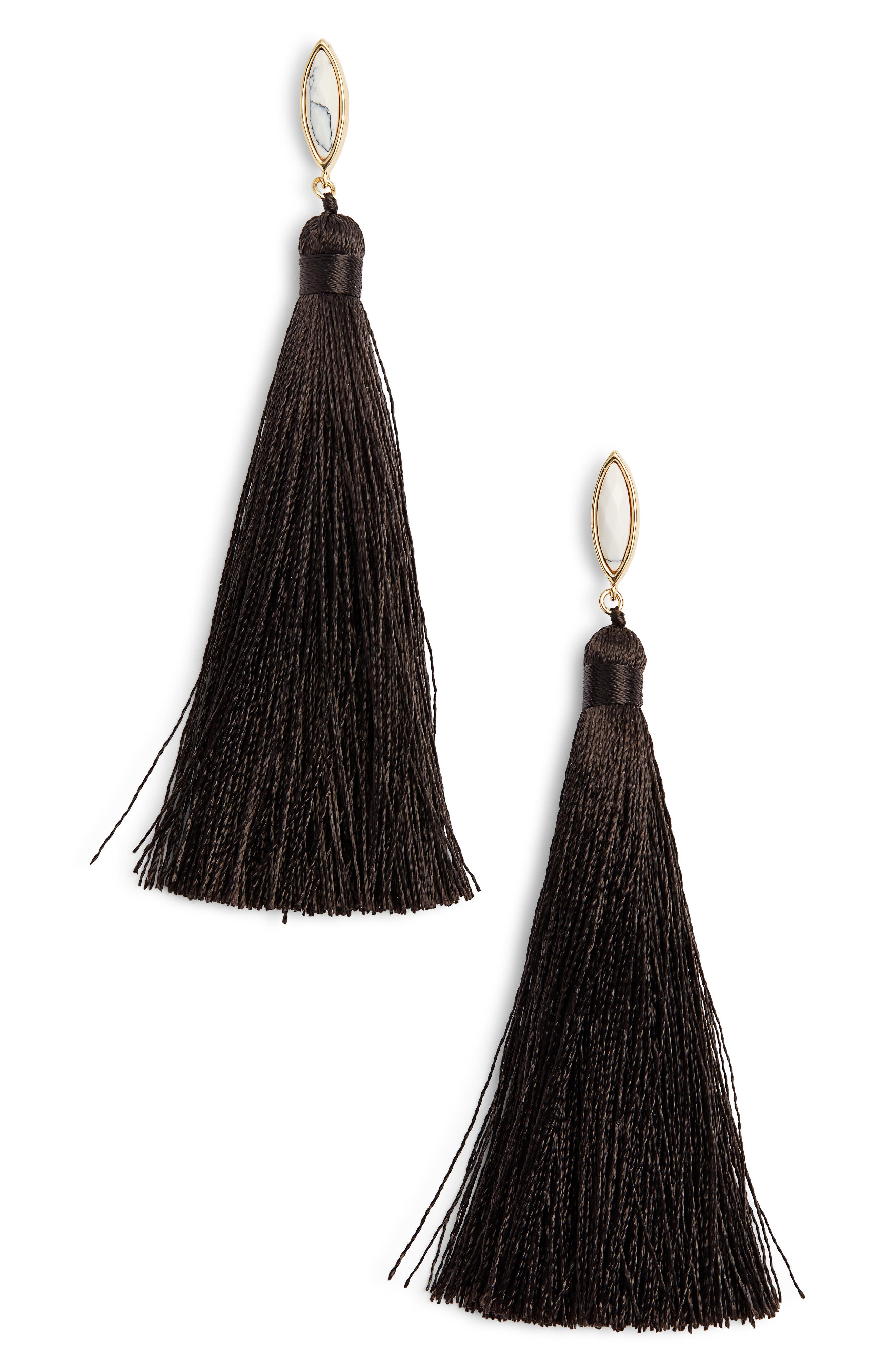 gorjana Palisades Tassel Earrings