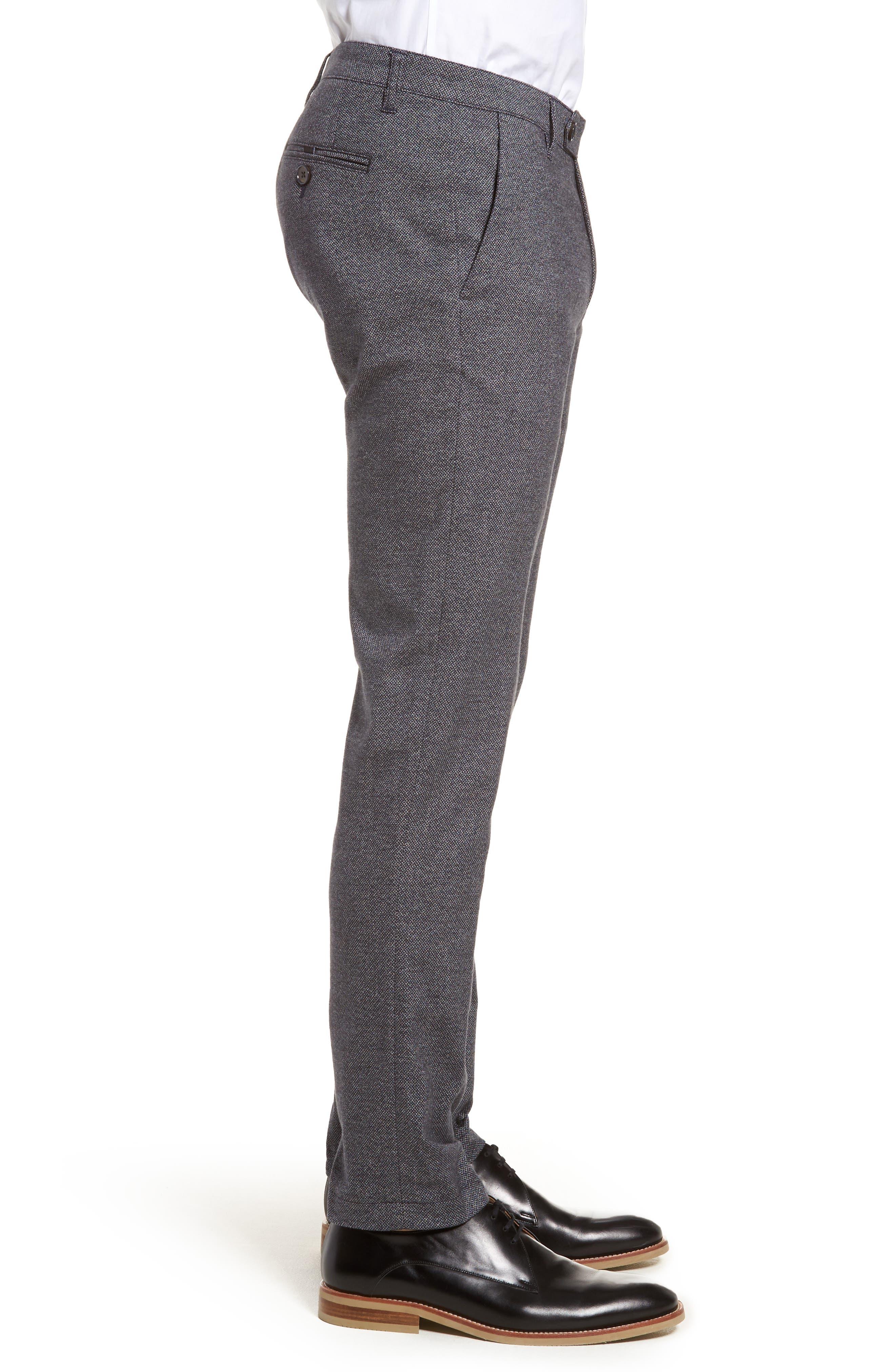 Pintz Slim Fit Trousers,                             Alternate thumbnail 3, color,                             Navy