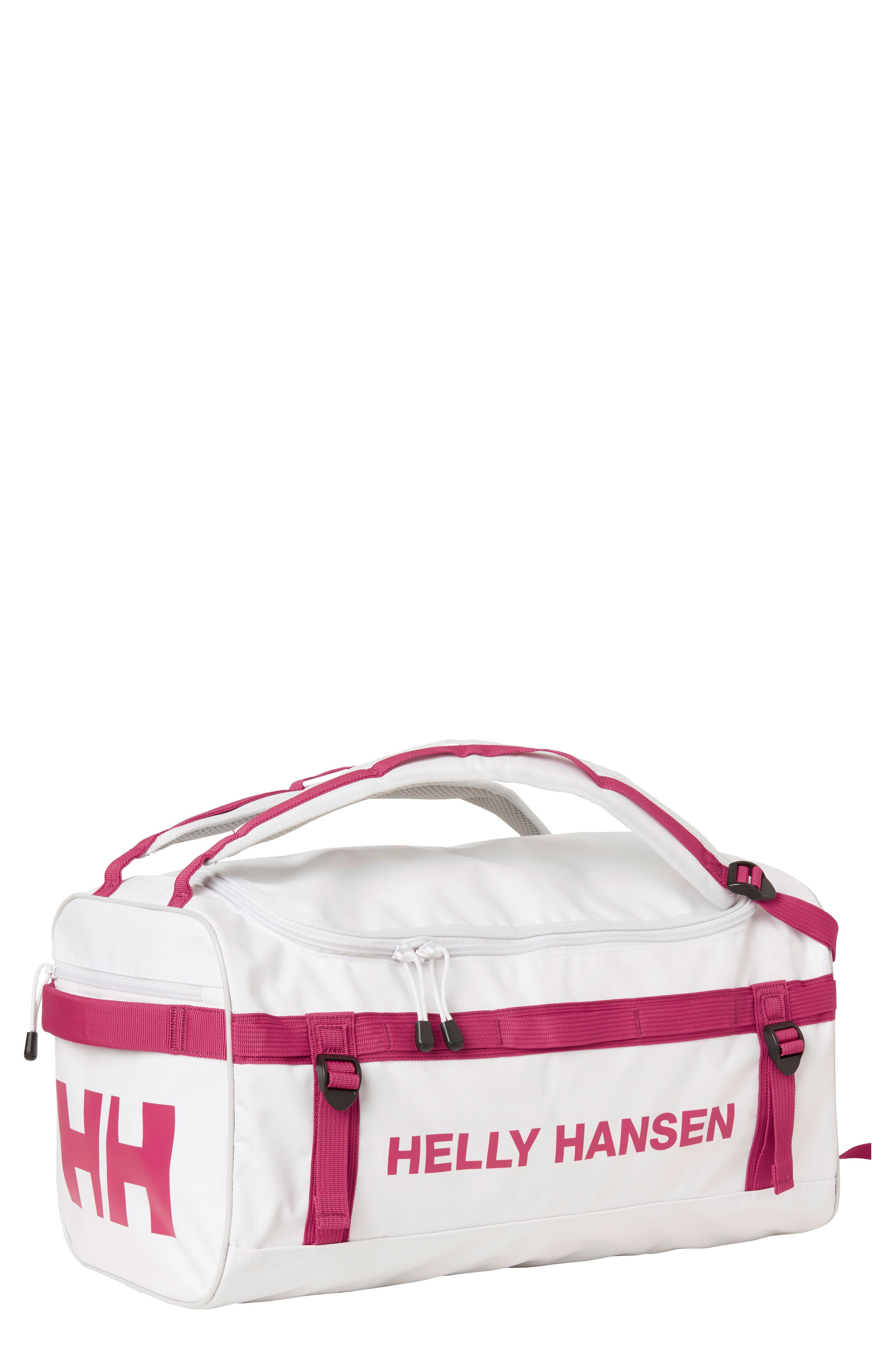 New Classic Extra Small Duffel Bag,                             Main thumbnail 1, color,                             White