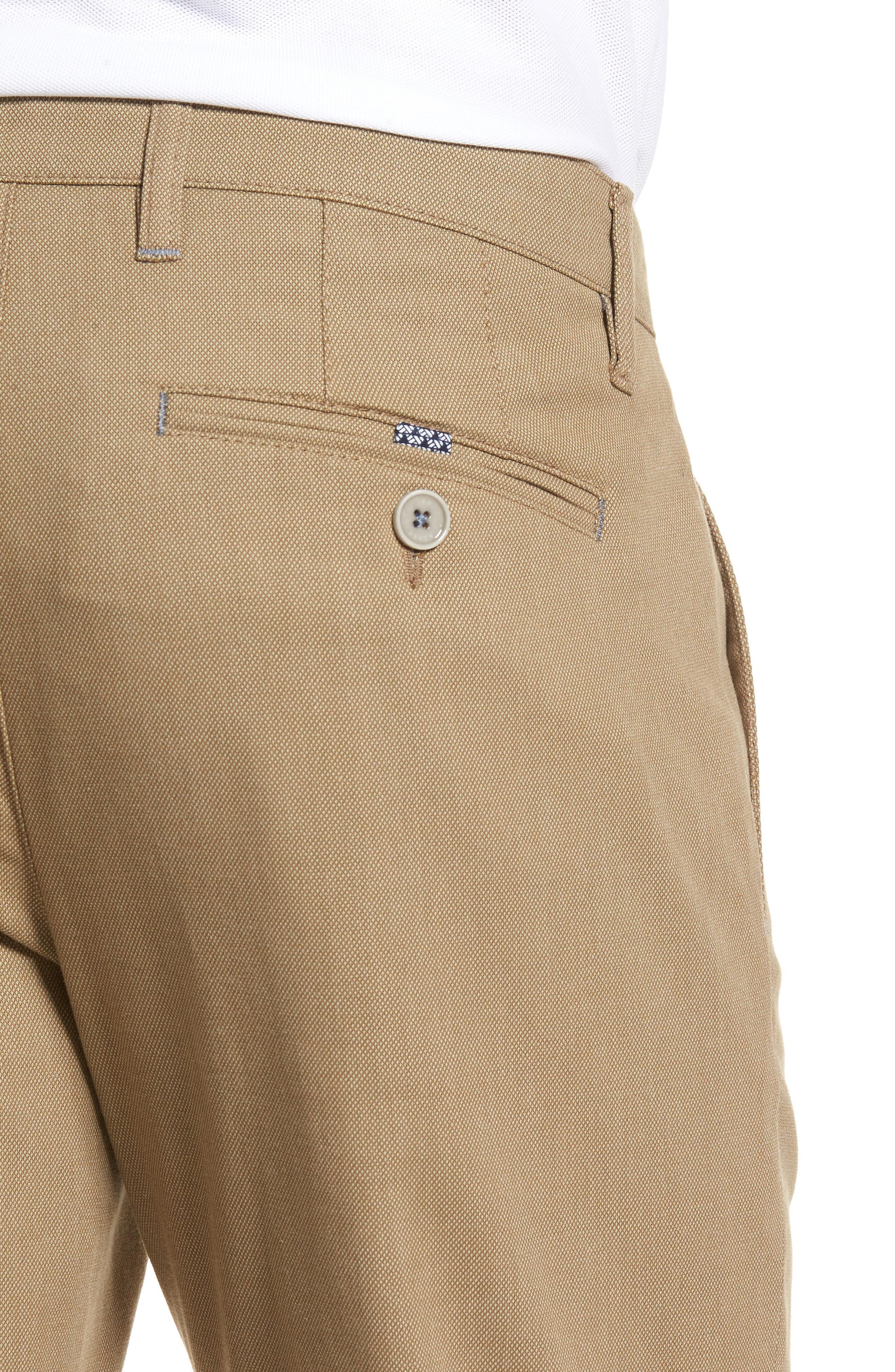 Alternate Image 4  - Ted Baker London Holclas Classic Fit Chino Pants