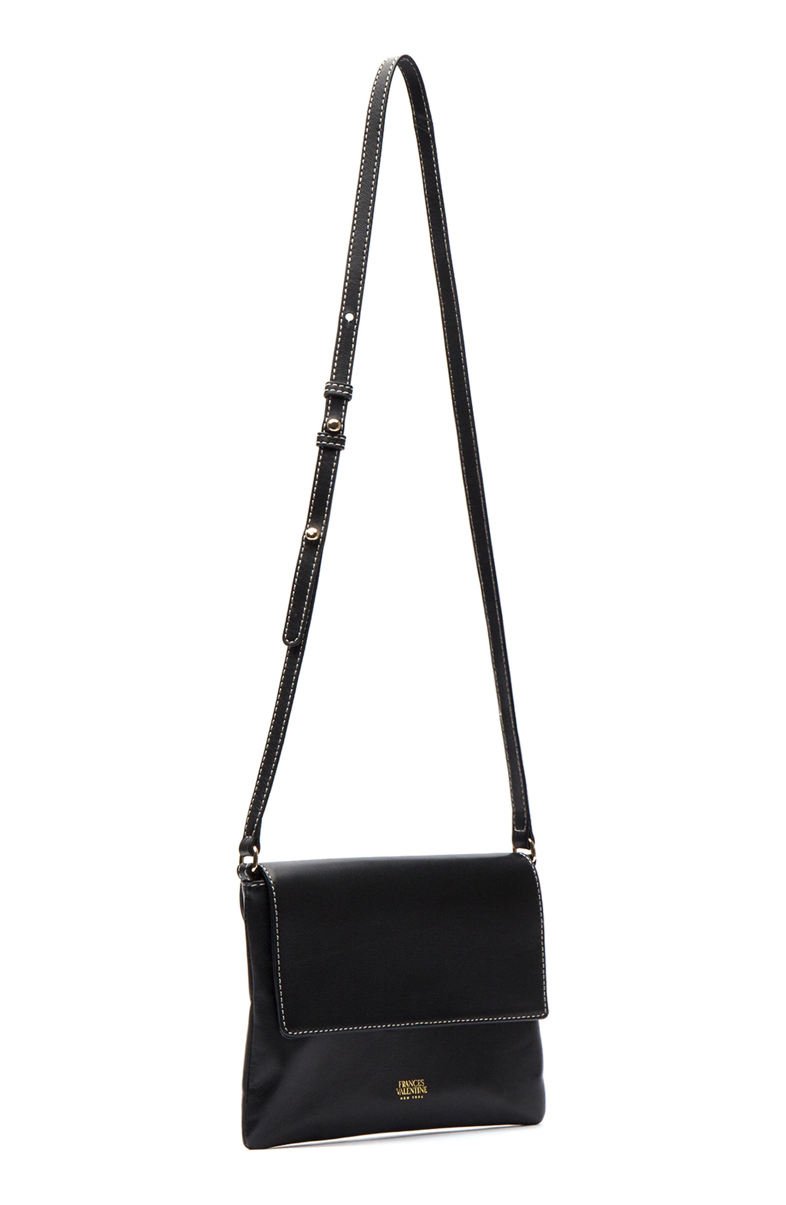 Alternate Image 2  - Frances Valentine Maggie Leather Crossbody Bag