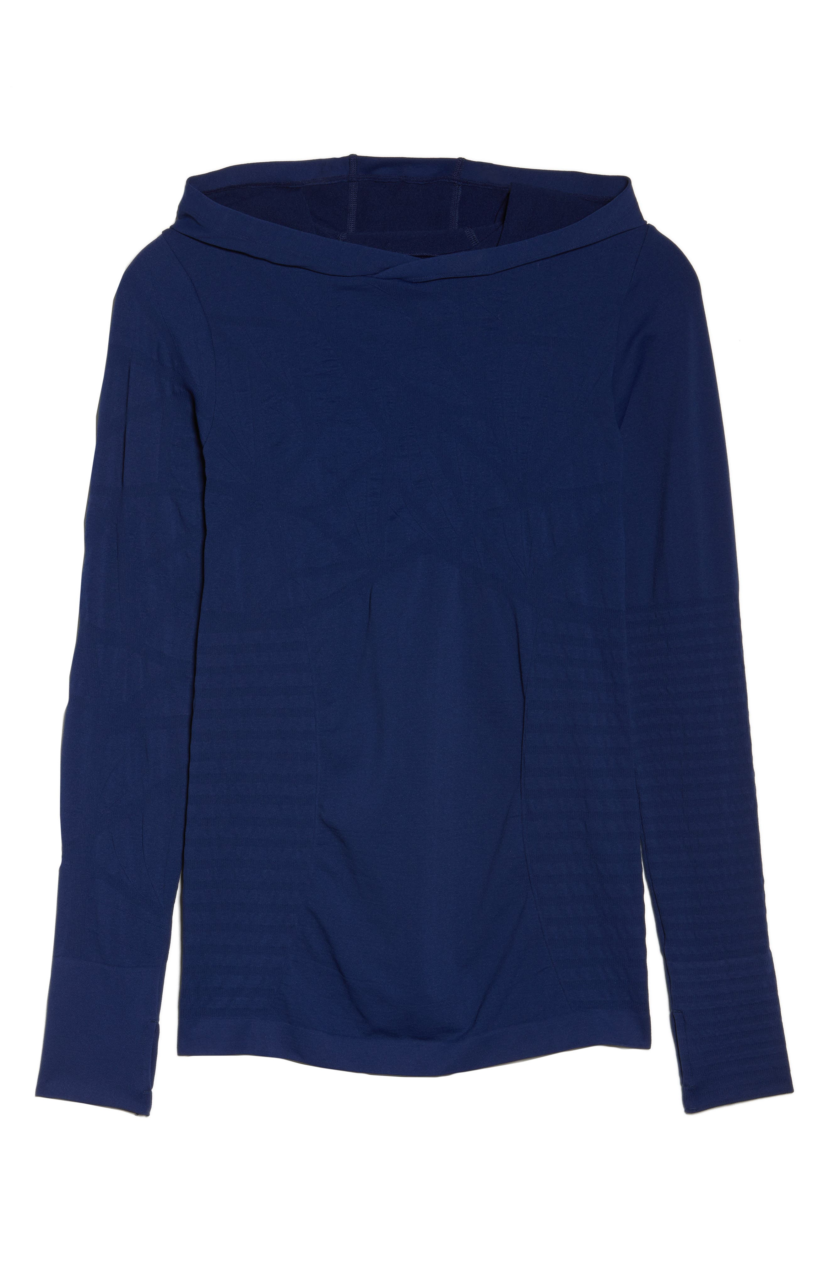 No Boundary Hoodie,                             Alternate thumbnail 7, color,                             Medieval Blue
