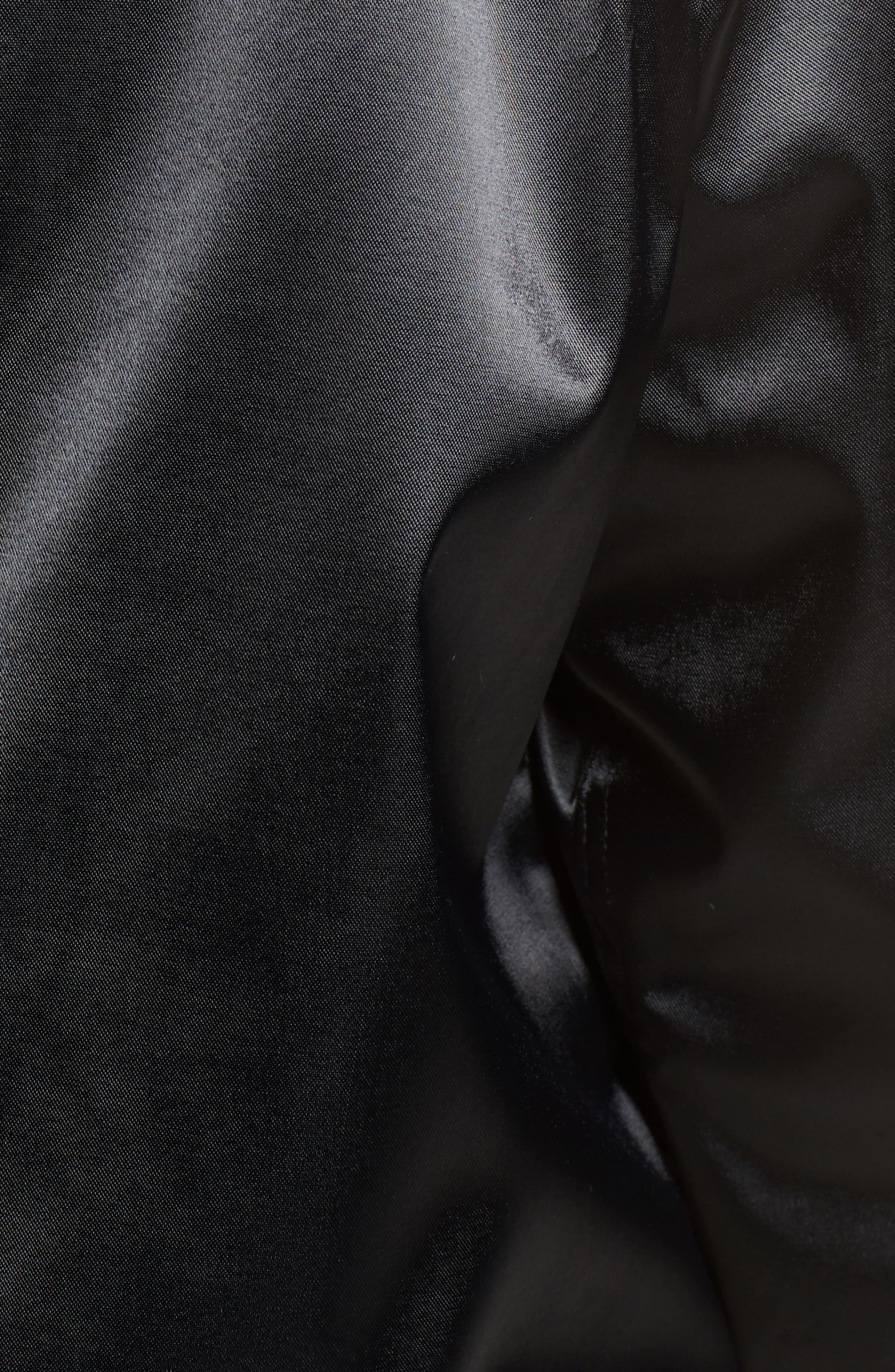 Embroidered Jacket,                             Alternate thumbnail 5, color,                             Black
