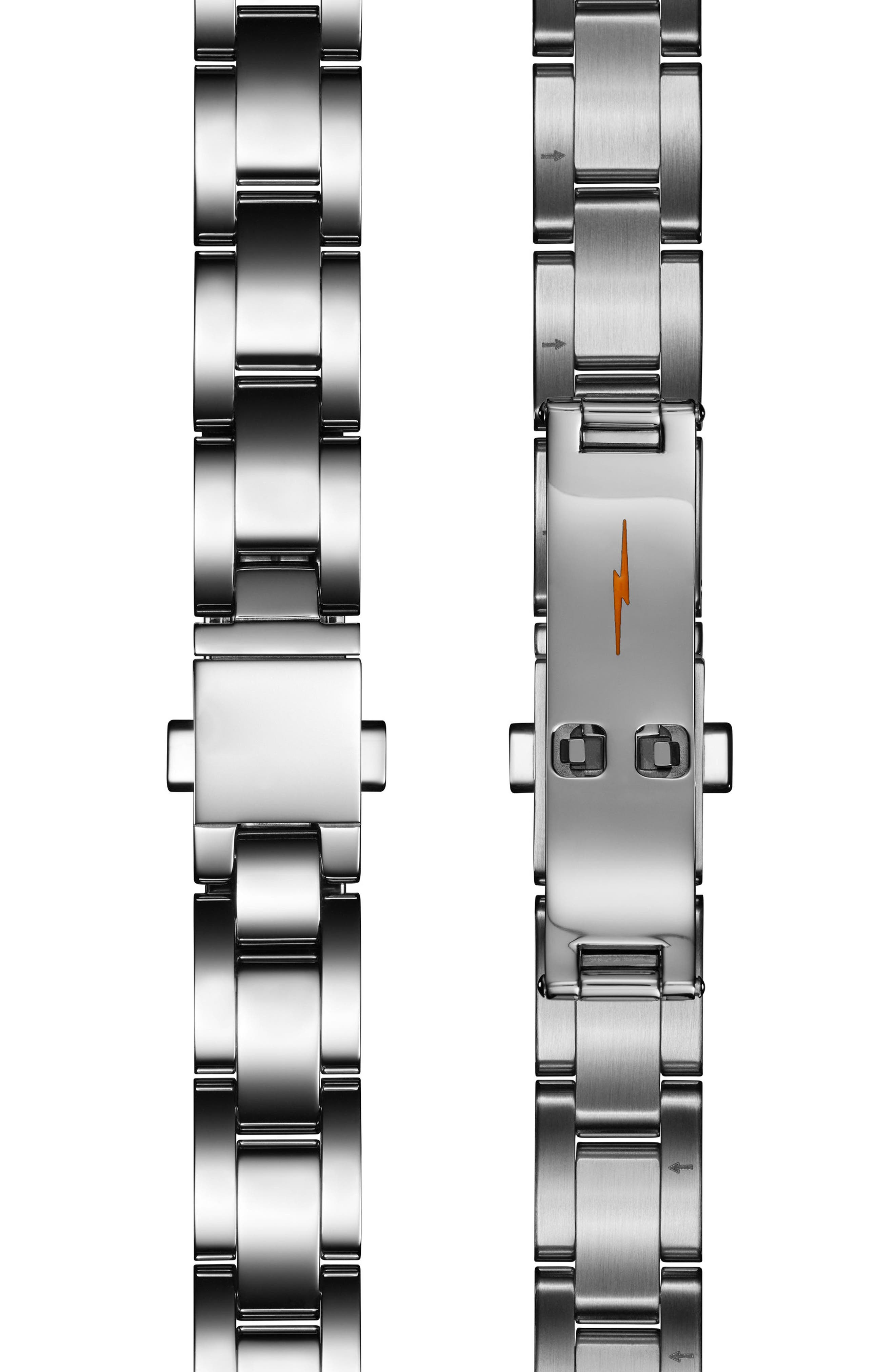 The Canfield Bracelet Watch, 38mm,                             Alternate thumbnail 3, color,                             Silver/ Midnight Blue/ Silver