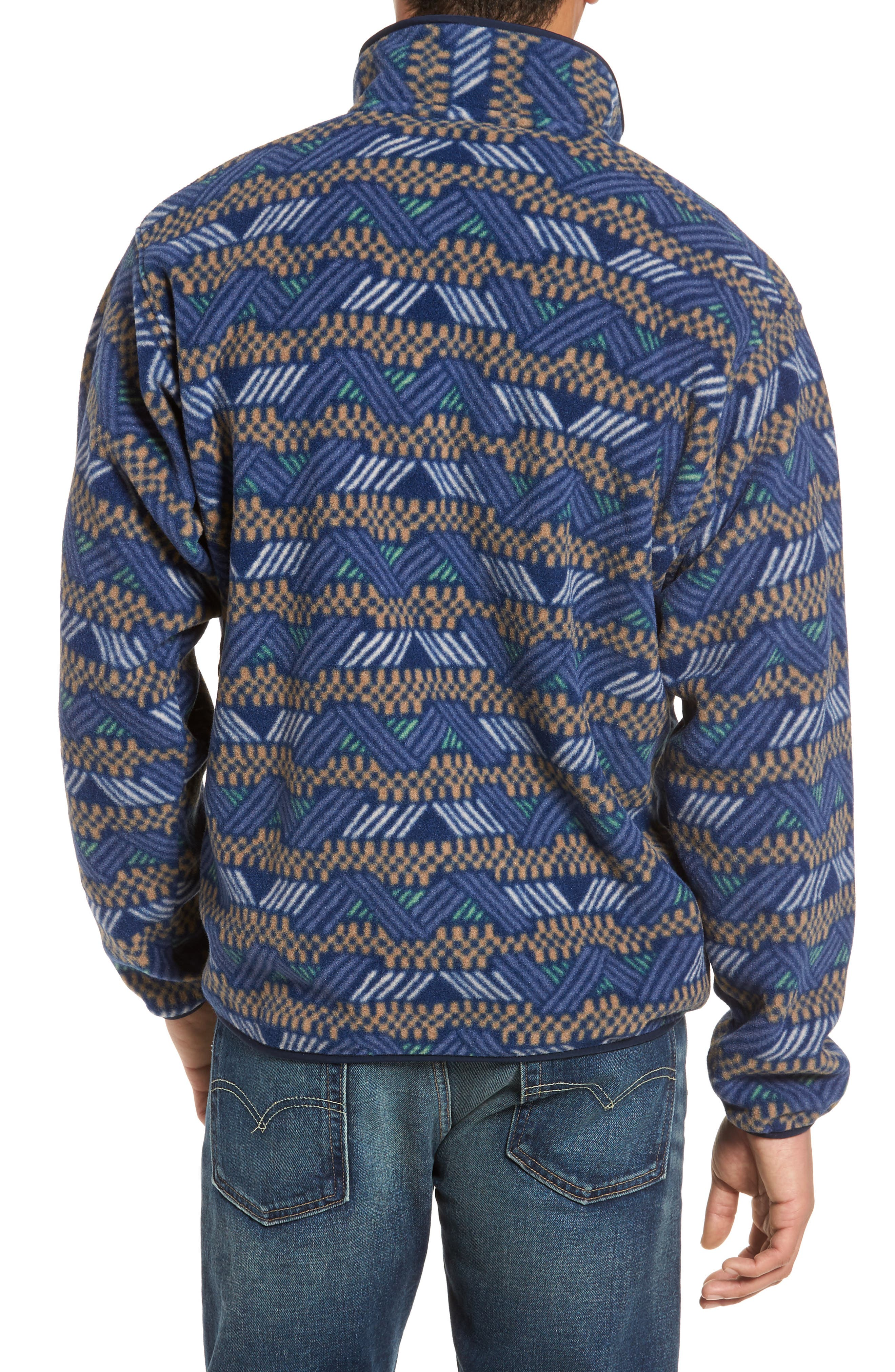 Synchilla<sup>®</sup> Snap-T<sup>®</sup> Fleece Pullover,                             Alternate thumbnail 2, color,                             Classic Navy
