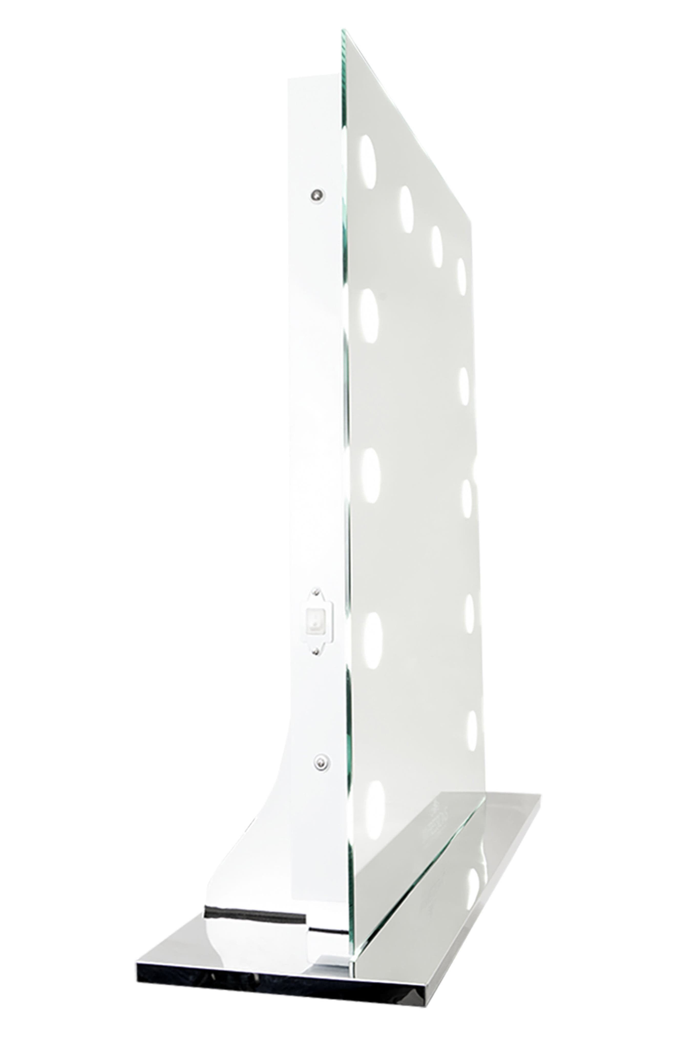 Mirage II LED Vanity Mirror,                             Alternate thumbnail 4, color,                             Clear