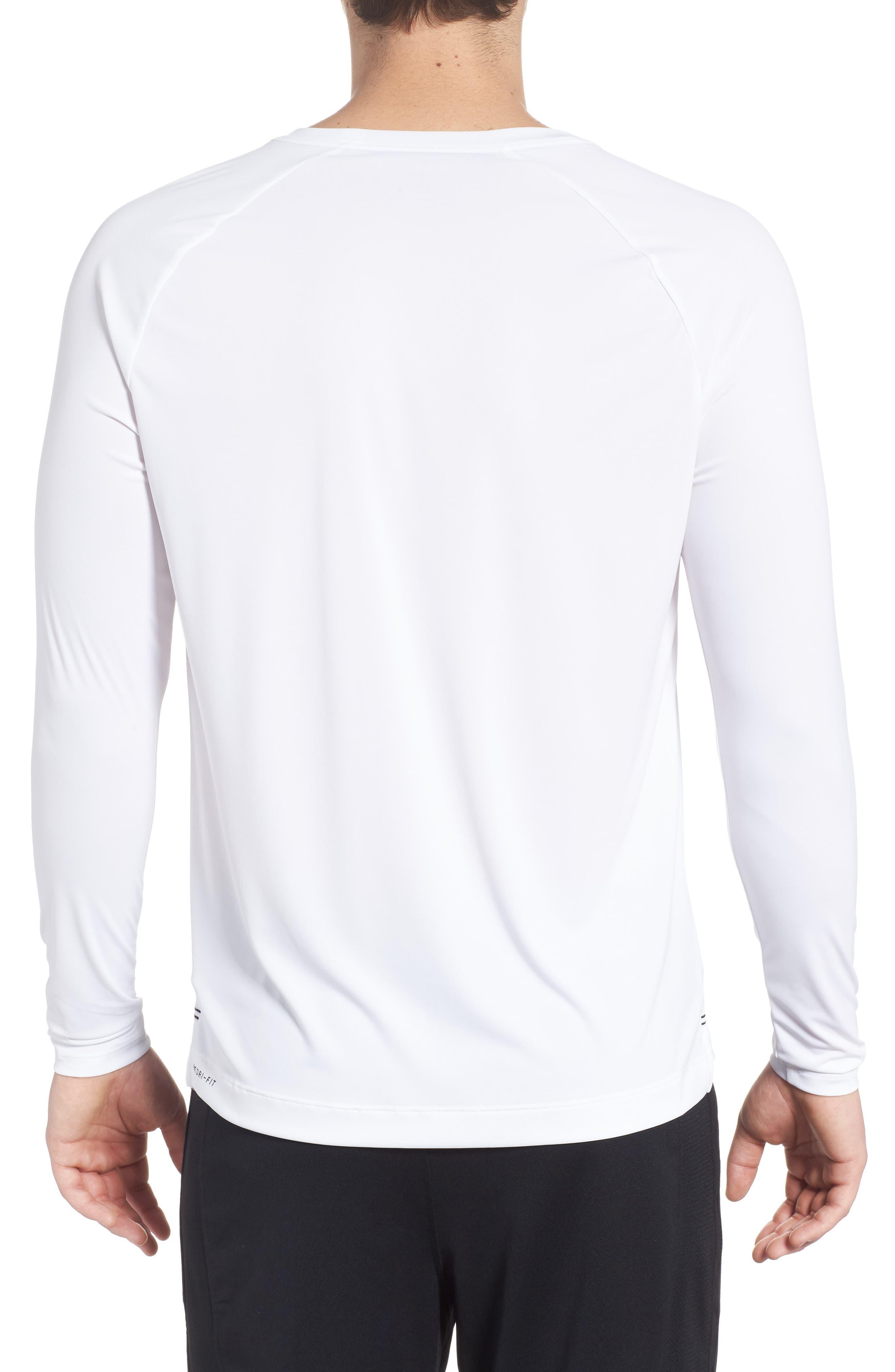 Icon Surf Shirt,                             Alternate thumbnail 2, color,                             White