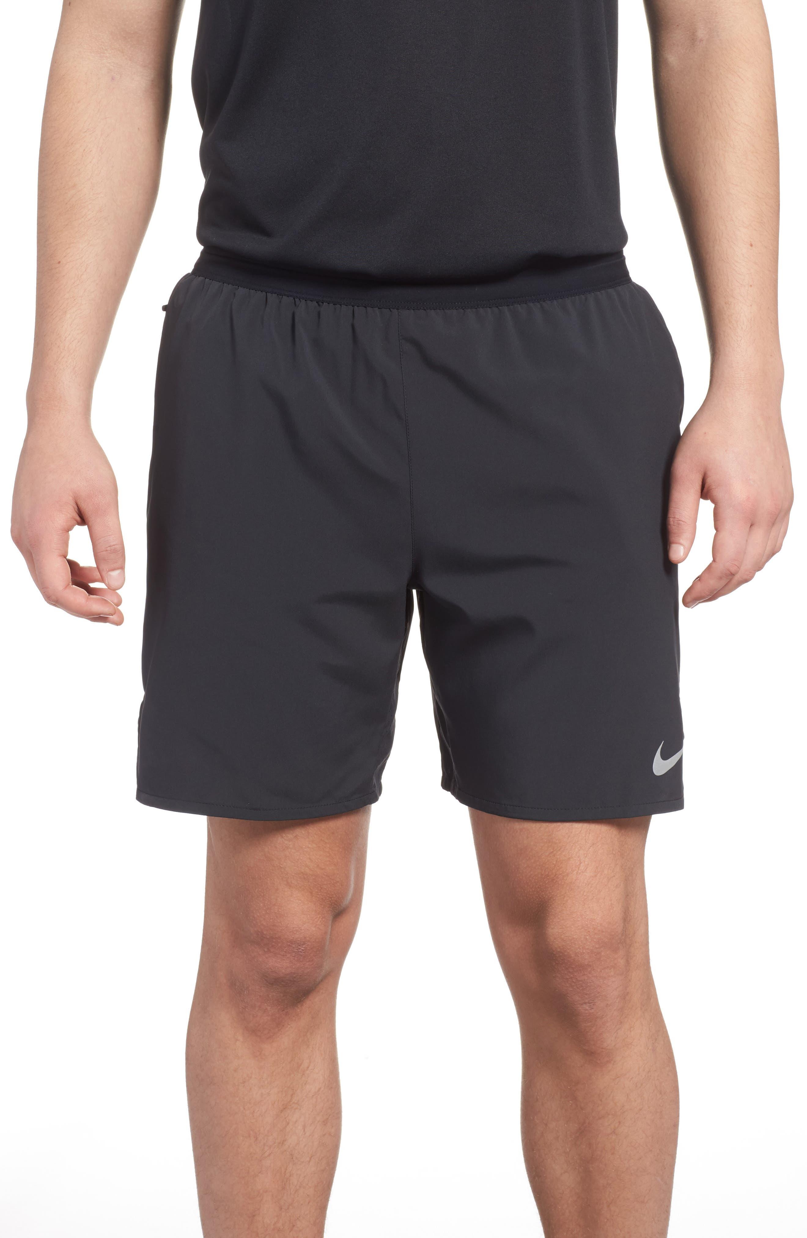 Flex Distance Shorts,                             Main thumbnail 1, color,                             Black/ Black