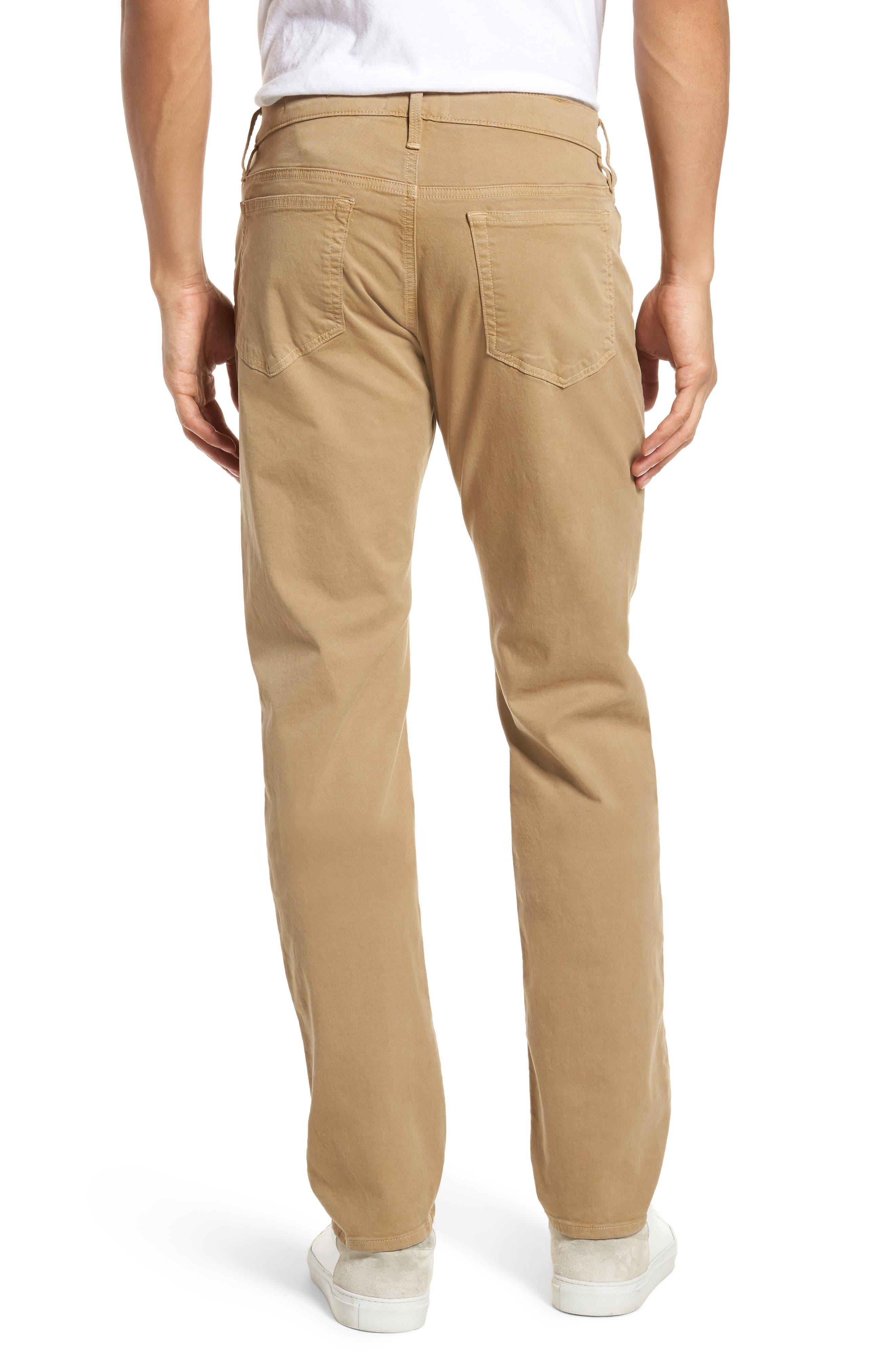Homme Slim Fit Chino Pants,                             Alternate thumbnail 2, color,                             Khaki