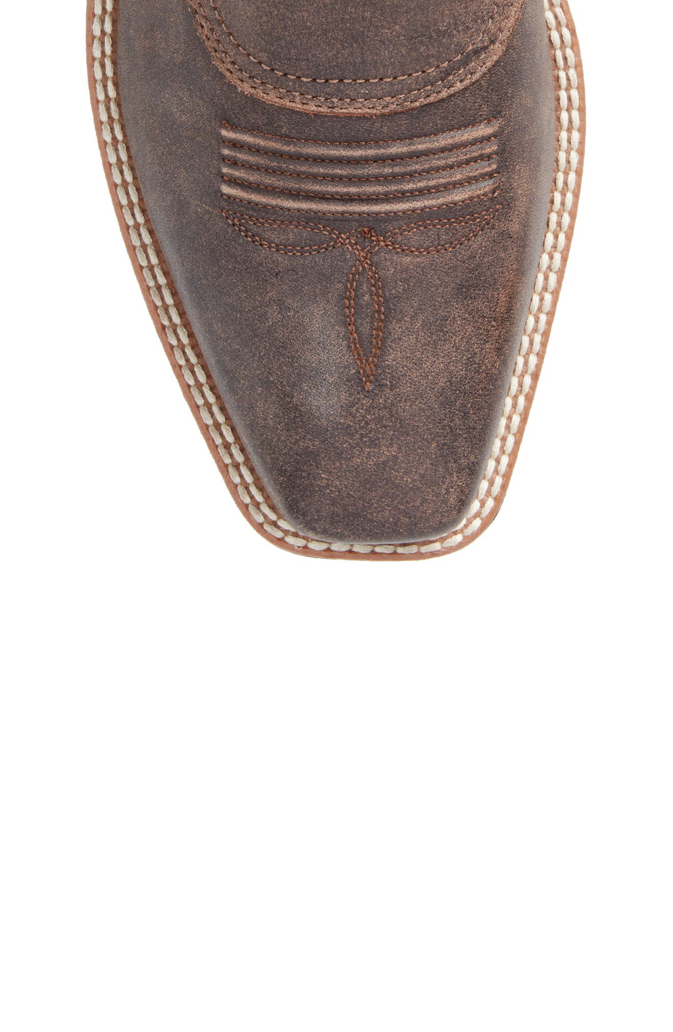 High Desert Cowboy Boot,                             Alternate thumbnail 5, color,                             Tack Chocolate Leather