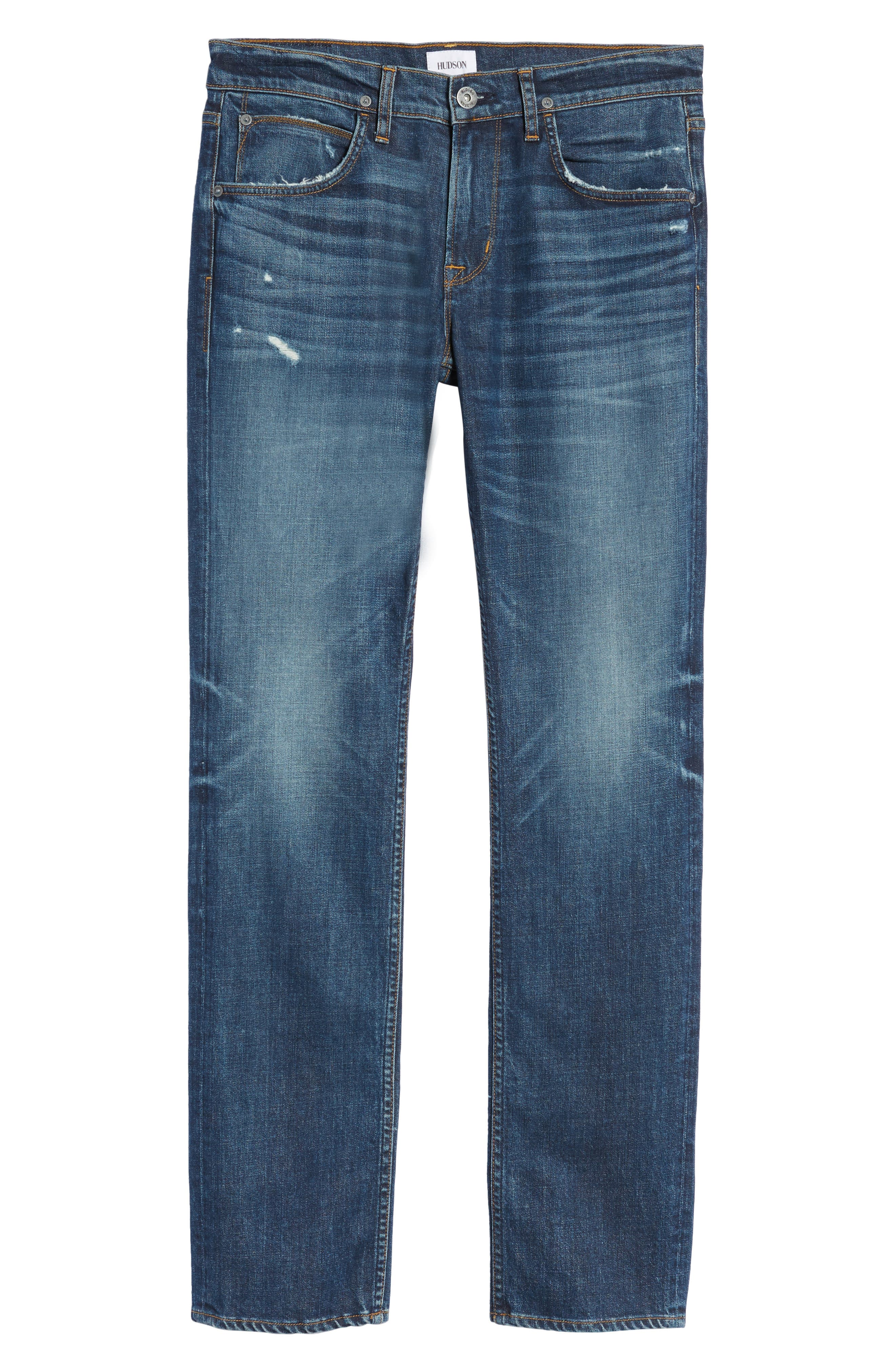Byron Slim Straight Leg Jeans,                             Alternate thumbnail 6, color,                             Shuvit